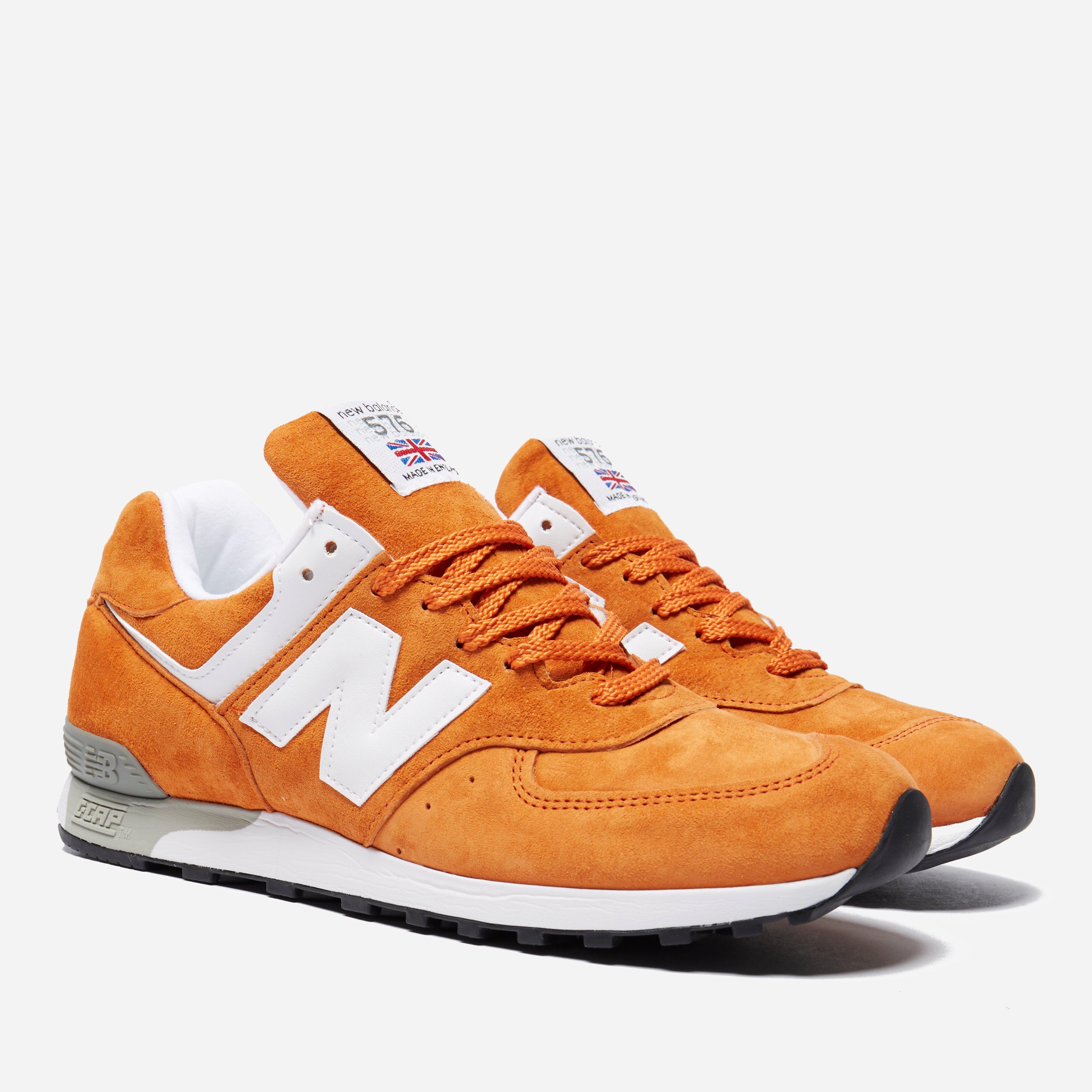 new balance 576 orange
