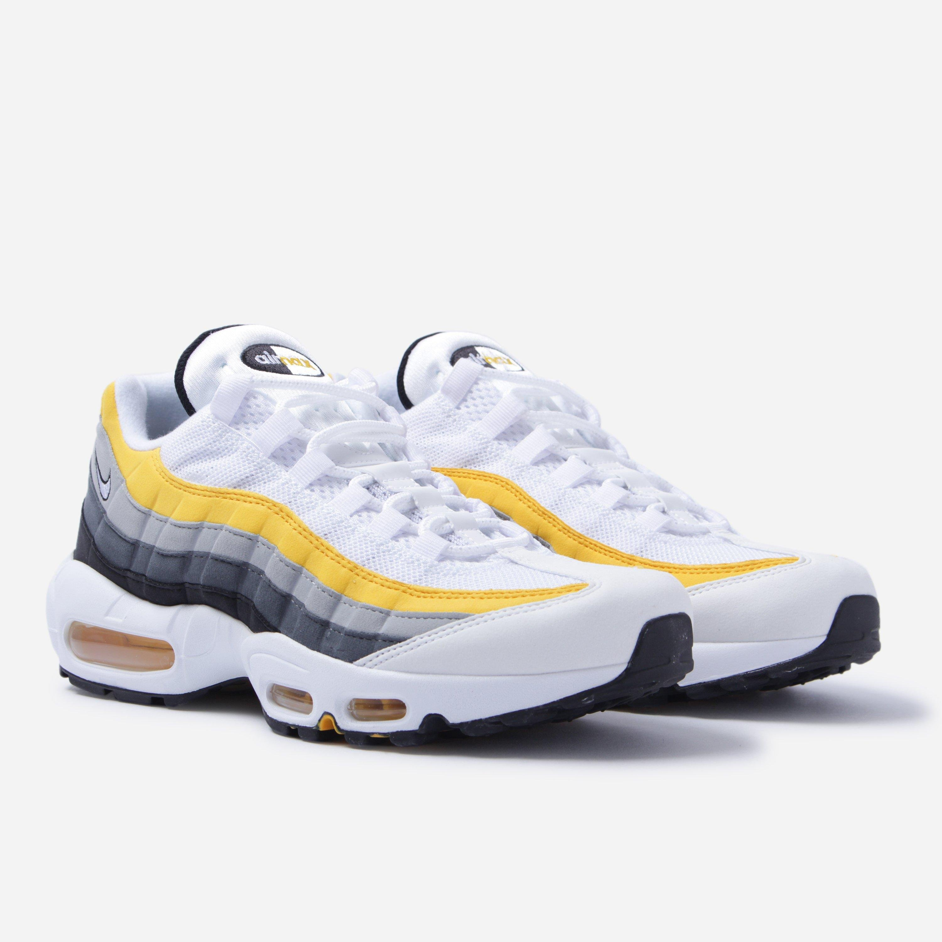 Nike Synthetic Air Max 95 in Yellow for Men - Lyst