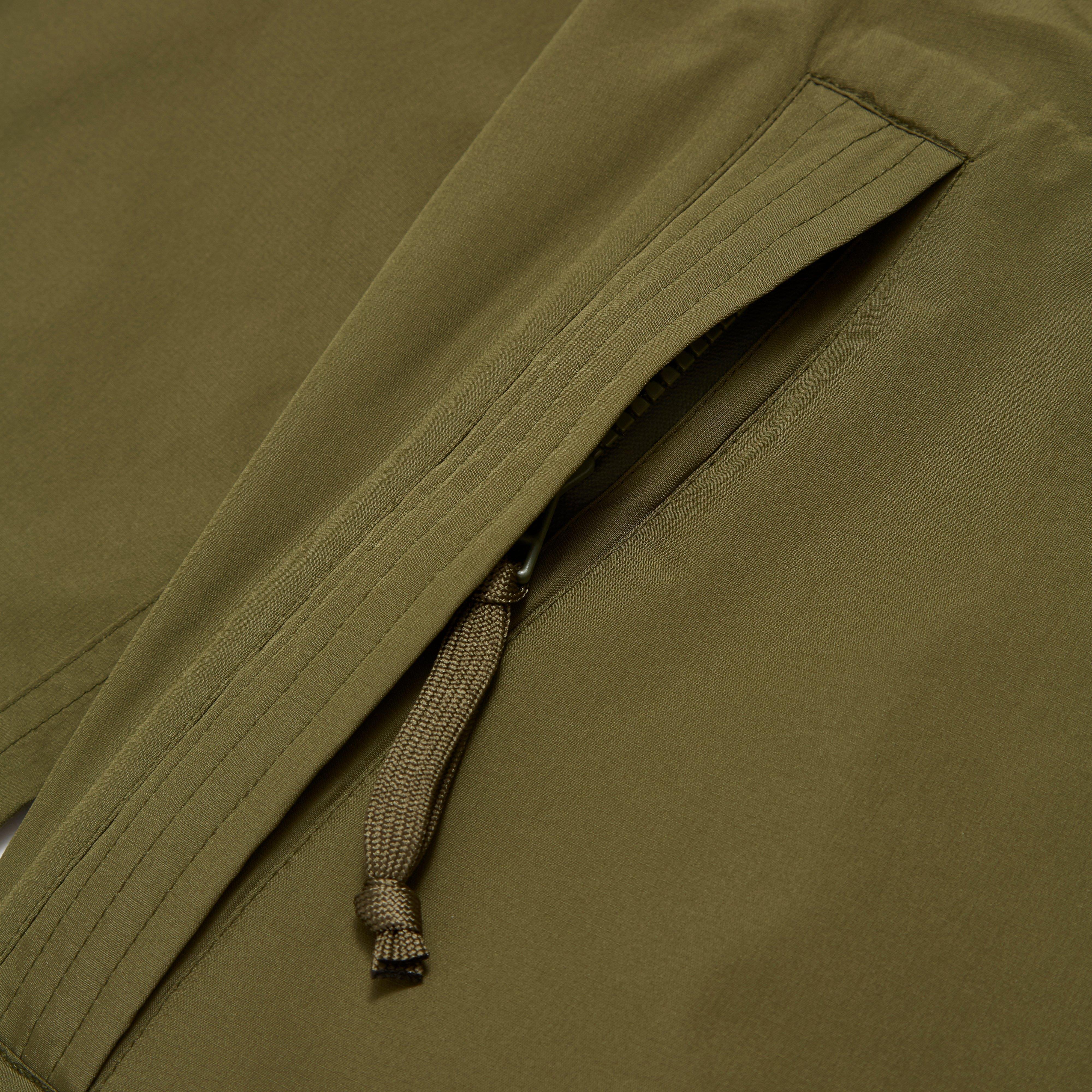 Lyst snow peak wind water resistant jacket in green for Wind resistant material