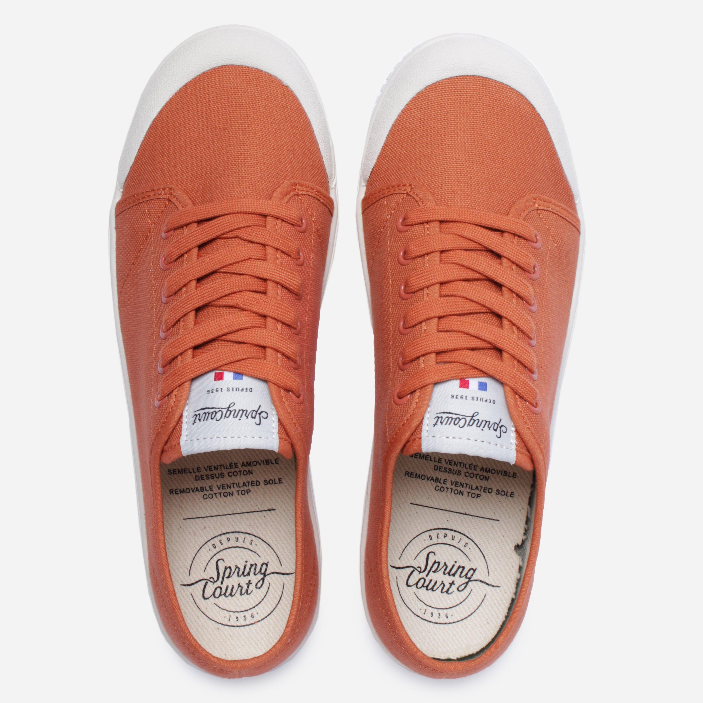 Spring Court G2 Canvas in Orange for Men