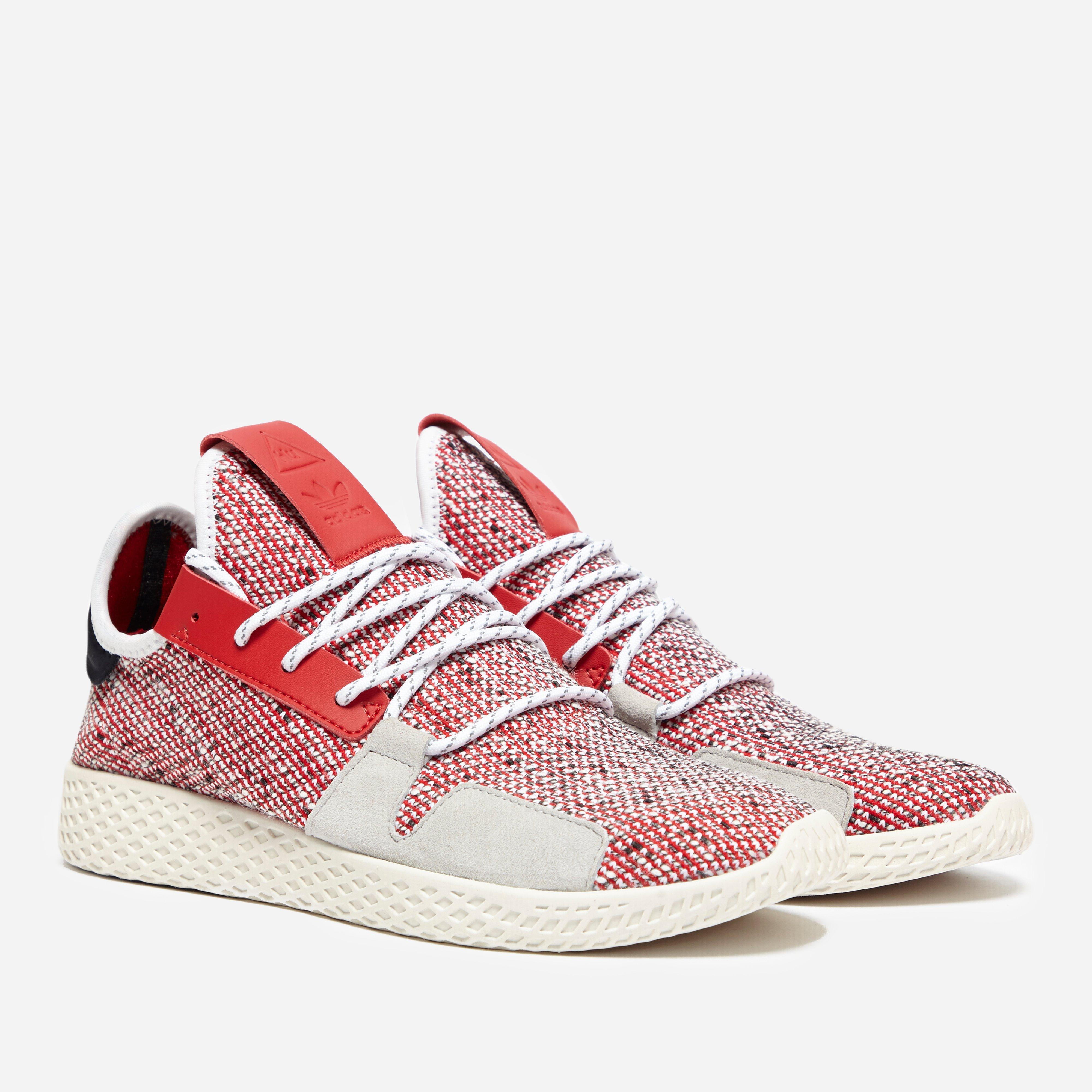 9d87df93156e3 adidas Originals. Men s Red X Pharrell Williams Solar Hu Tennis V2  afro ...