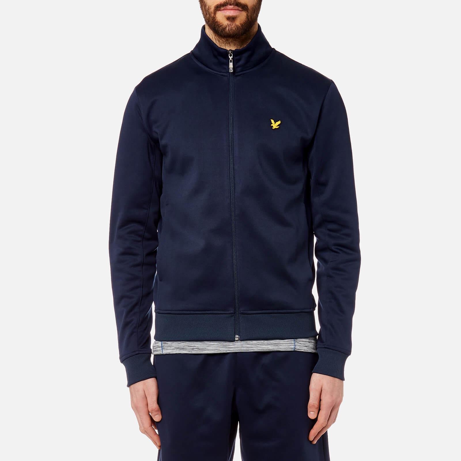 c639ff16a Lyle & Scott Blue Steel Funnel Neck Zip Through Sweatshirt for men