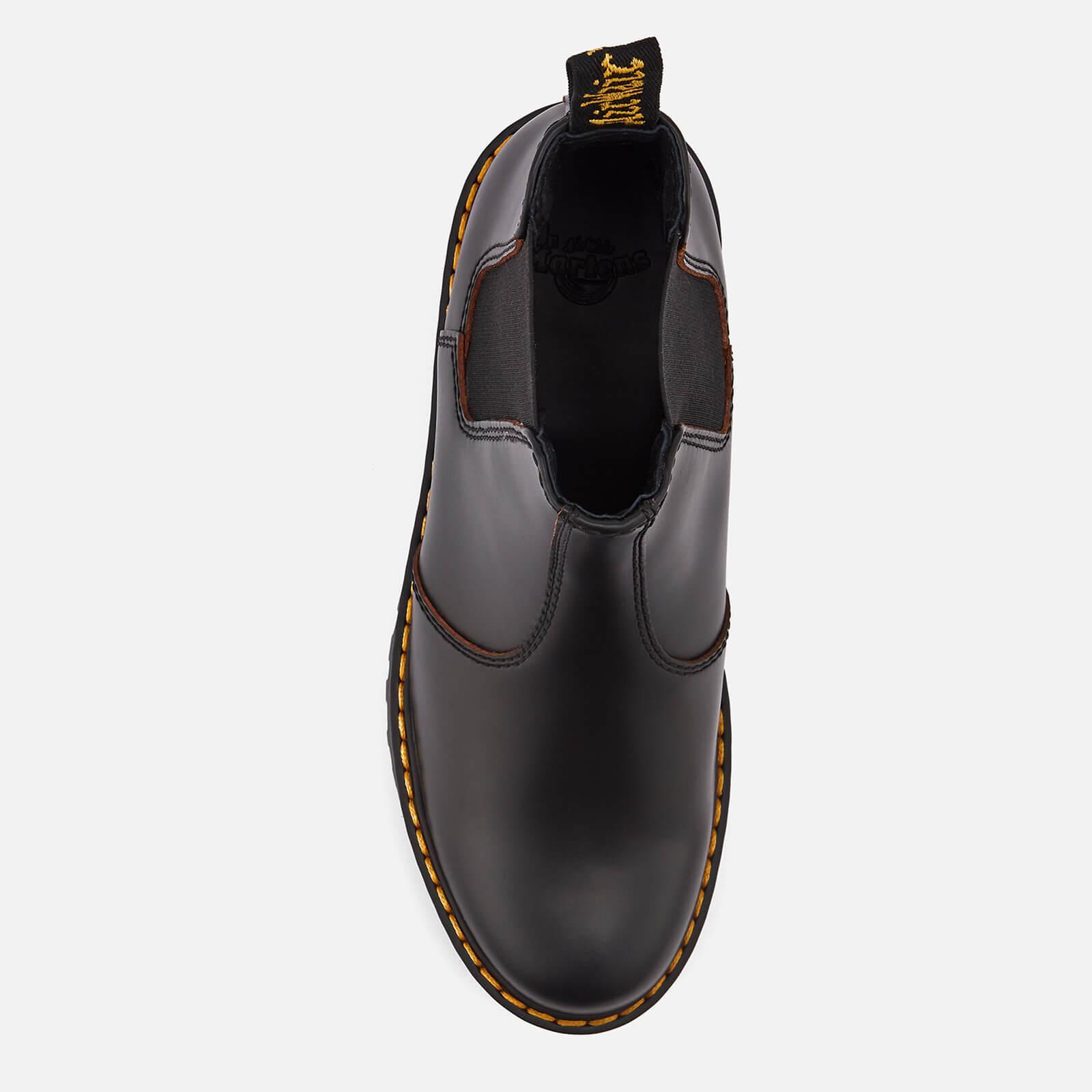 dr martens rometty chelsea boot black