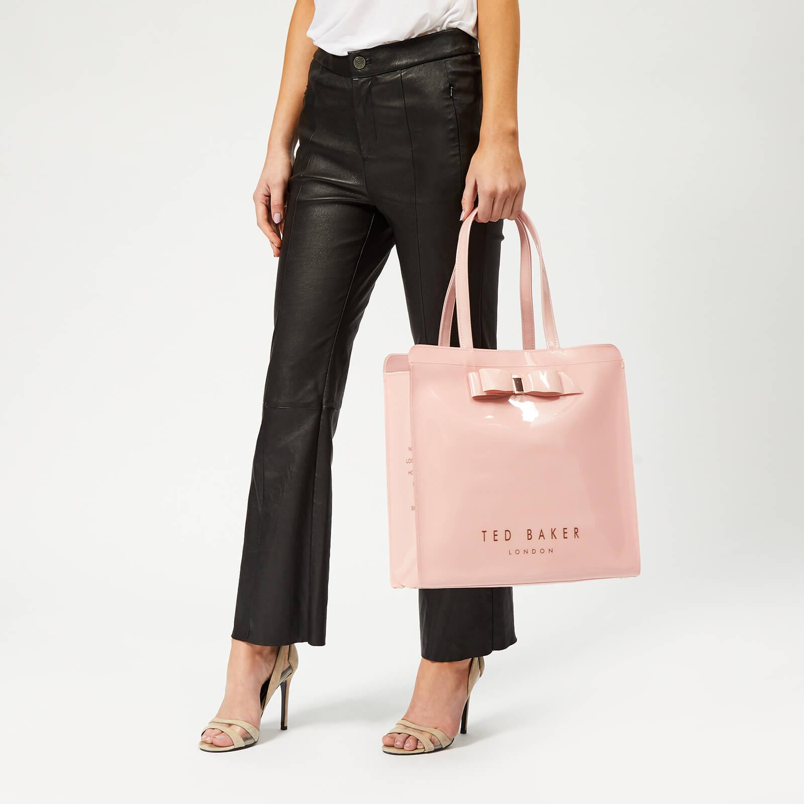 5e3d1d6deb23 Ted Baker - Pink Almacon Bow Detail Large Icon Bag - Lyst. View fullscreen