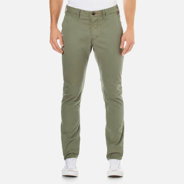 Superdry Rookie Chinos In Green For Men