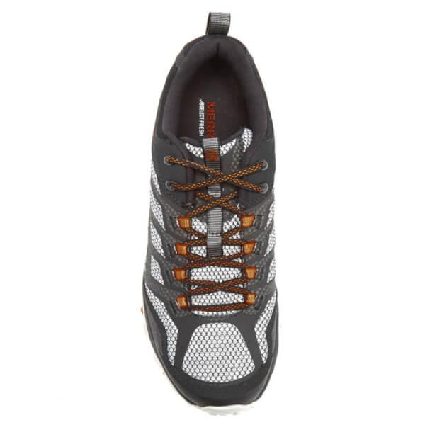 Merrell Lace Moab Fst Men's Walking Shoes in Black (Black) (Black) for Men