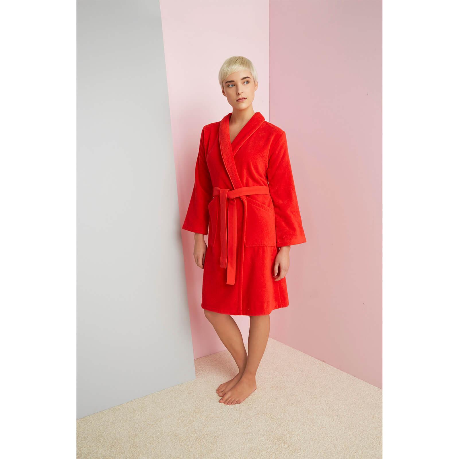 617b13416e Lyst - KENZO Iconic Bathrobe in Red