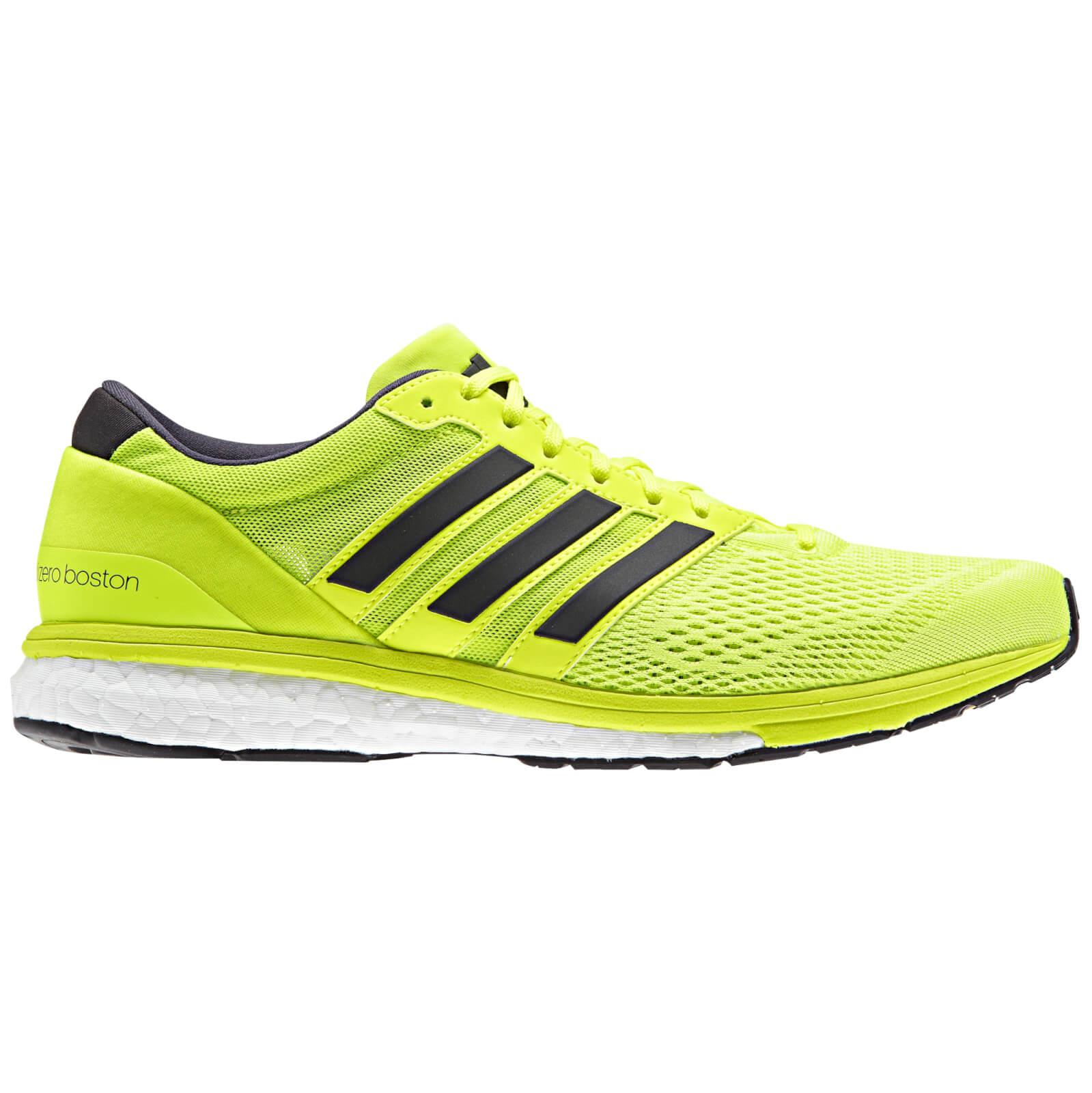 lyst 6 adidas original adizero boston 6 lyst löparskor i gult för män a89654