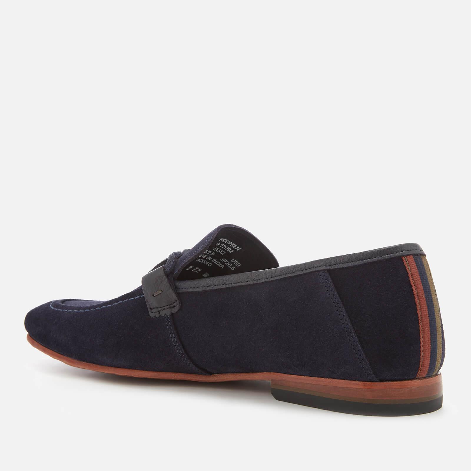 Ted Baker Hoppken Suede Loafers in Blue