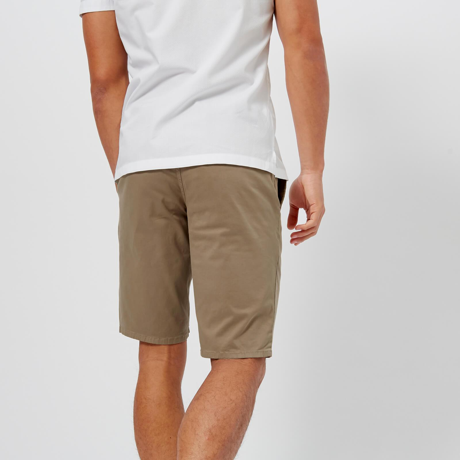 7eb025cc2 Boss Orange Schino Slim Shorts in Natural for Men - Lyst