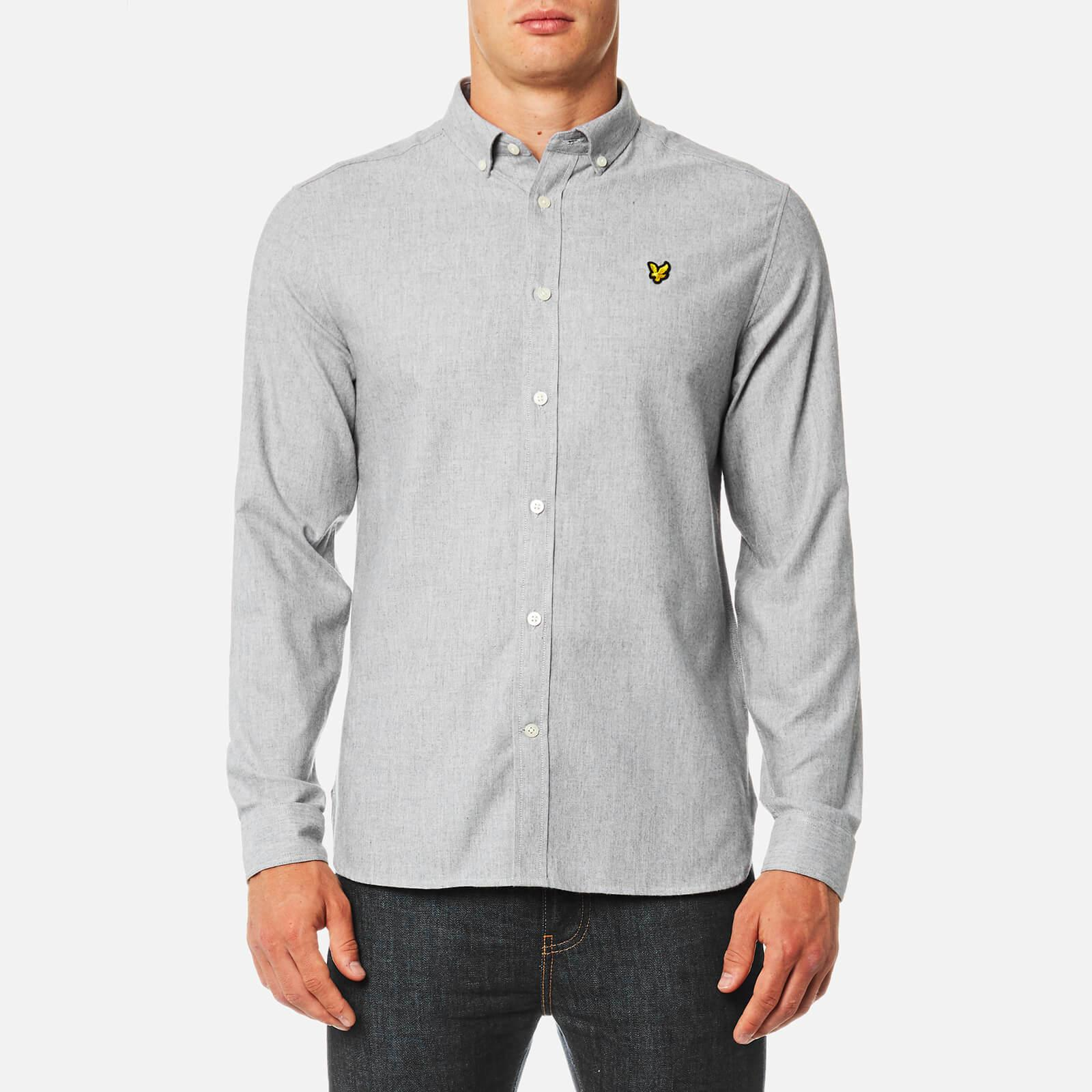 Mens Brushed Chambray Casual Shirt Lyle & Scott Real Online Sale Discount Discount Cheap Online zgdaI3oZG
