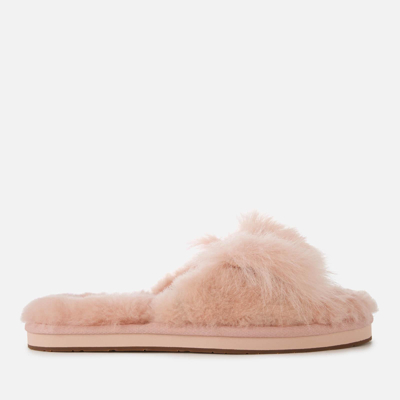 121c6e4b32 Lyst - UGG Mirabelle Sheepskin Slide Slippers in Pink