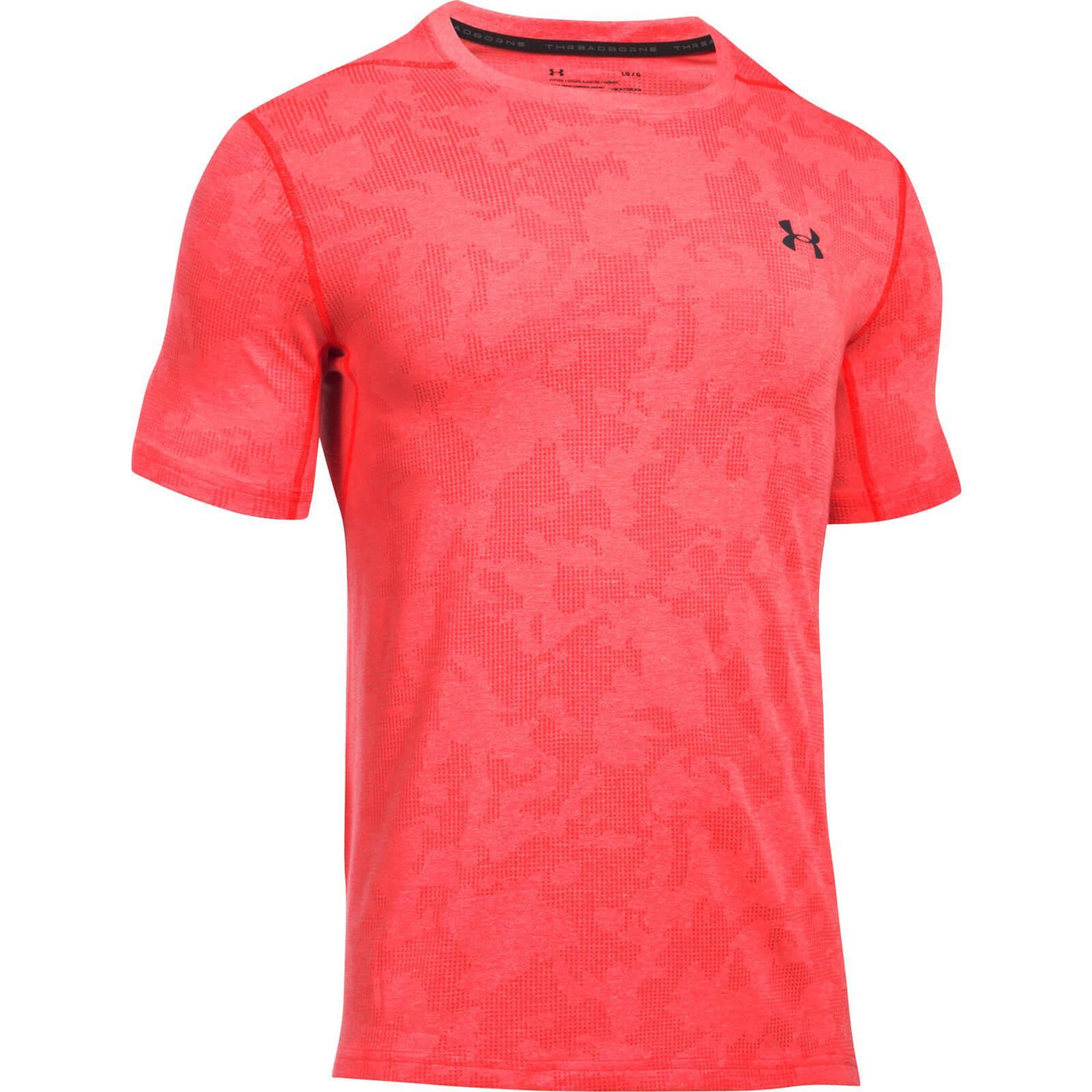 Lyst under armour threadborne elite fitted t shirt in for Under armour fitted t shirt