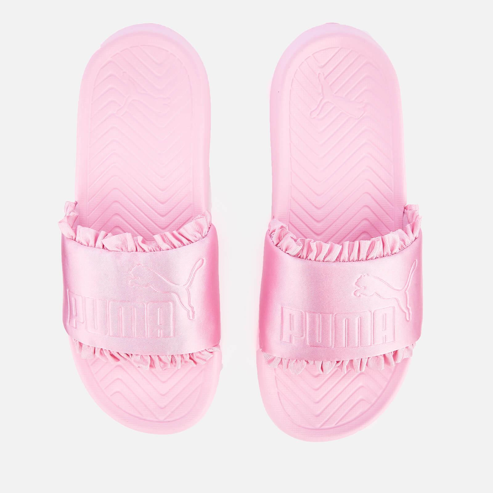 1664e264b9d5 Lyst - PUMA Popcat Silk Slide Sandals in Pink