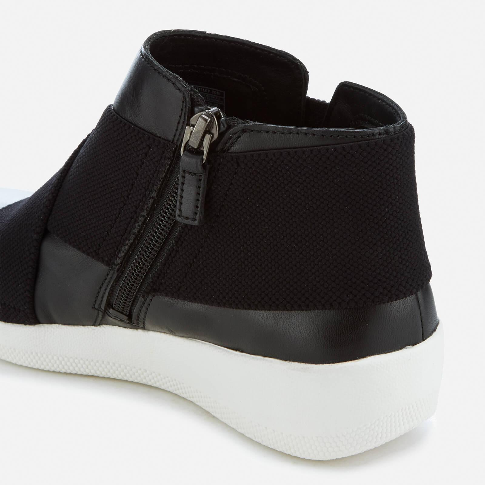 552f84d21cc Fitflop Black Superflex Leather Ankle Boots