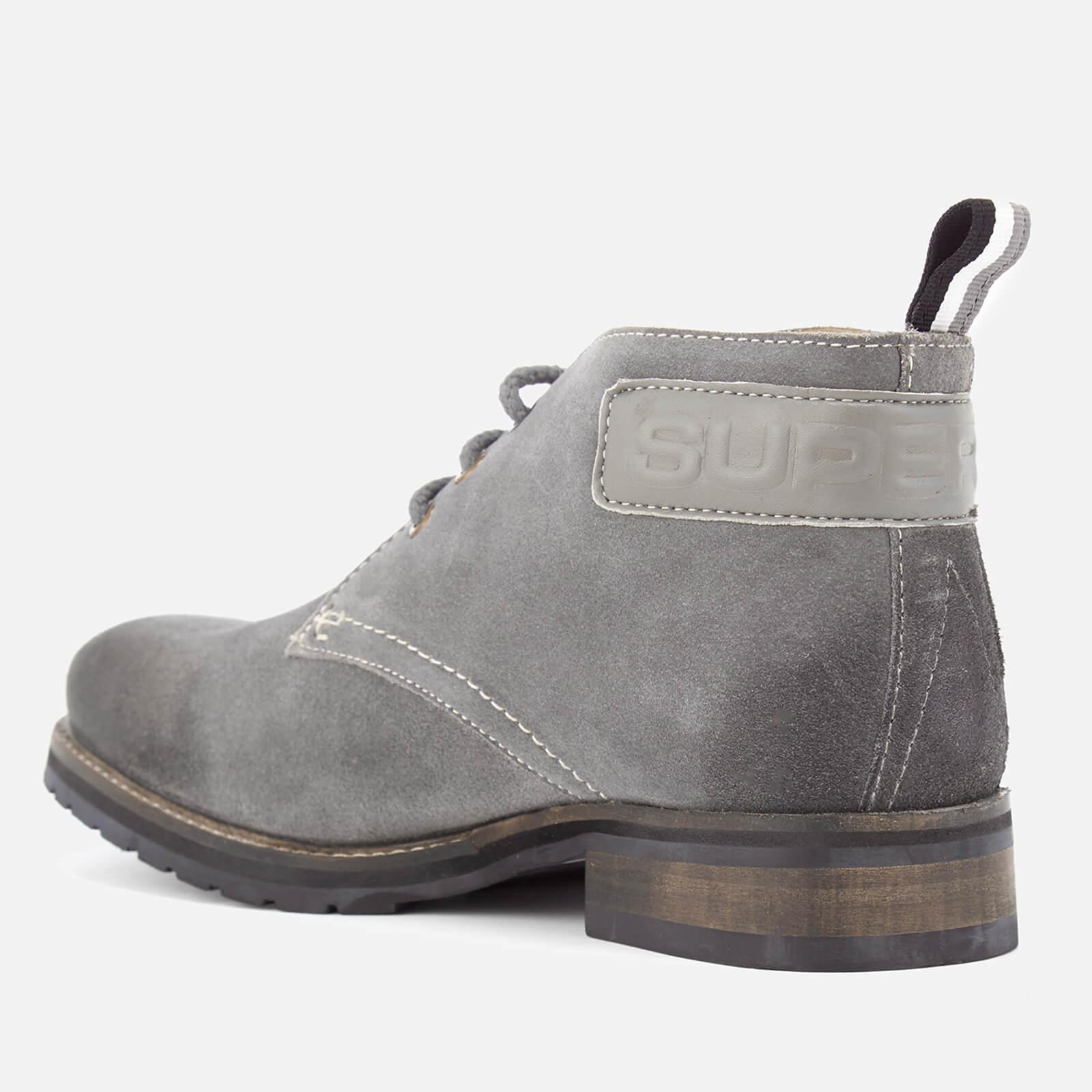 Superdry Suede Ryan Desert Boots in