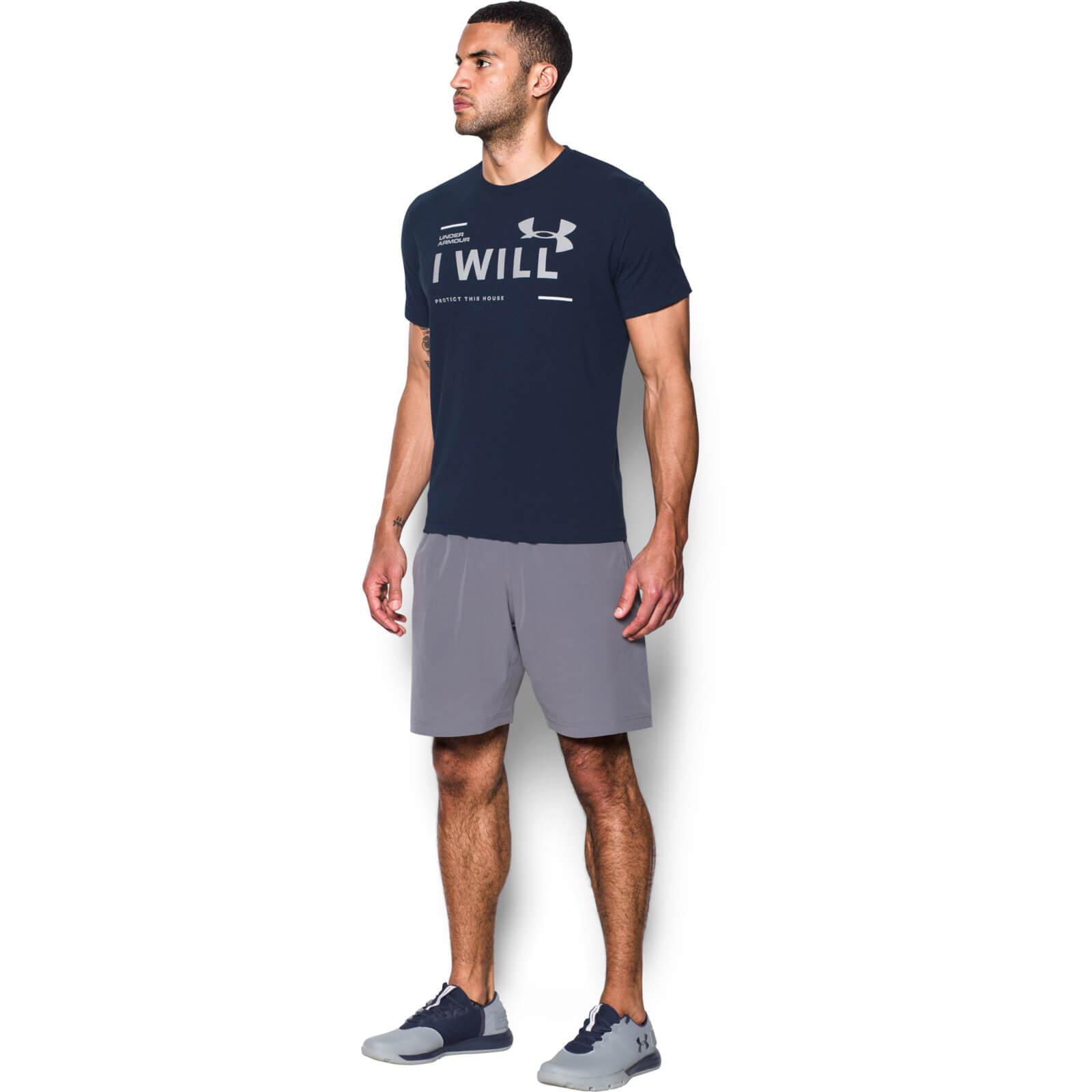 Lyst Under Armour I Will T Shirt In Blue For Men