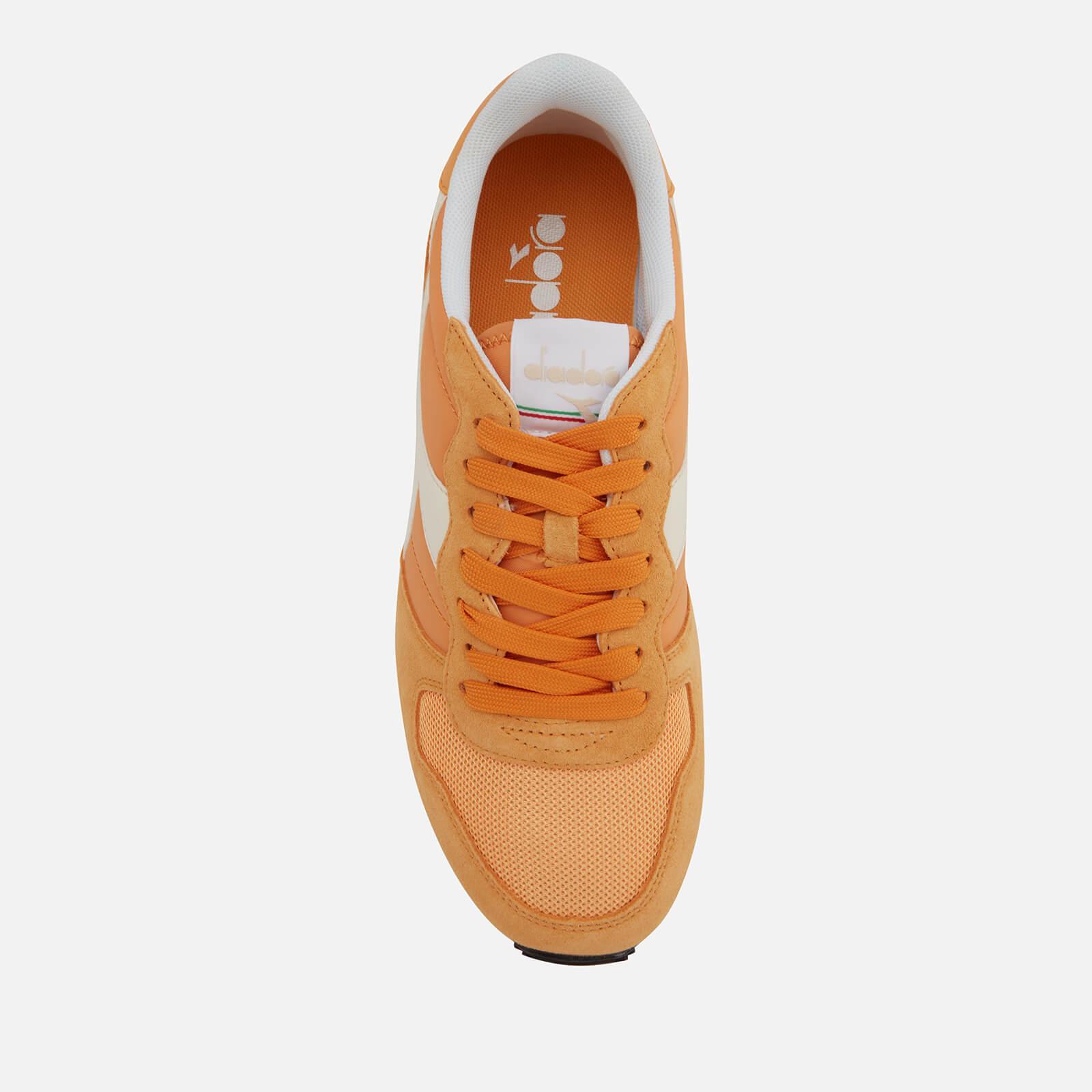 Diadora Synthetic Camaro Nylon/suede Trainers in Orange for Men