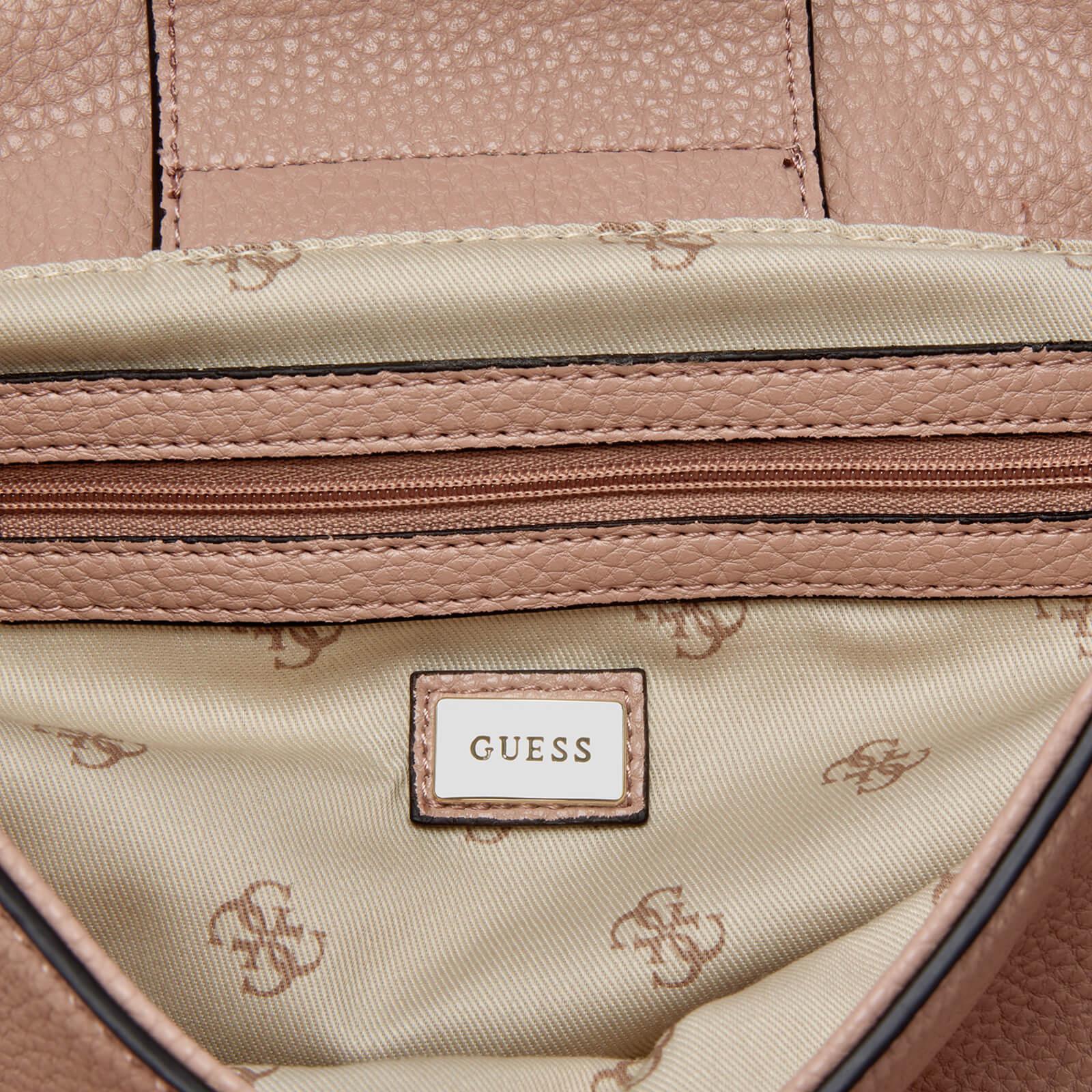8a378cd993 Guess Shailene Top Handle Flap Bag - Lyst