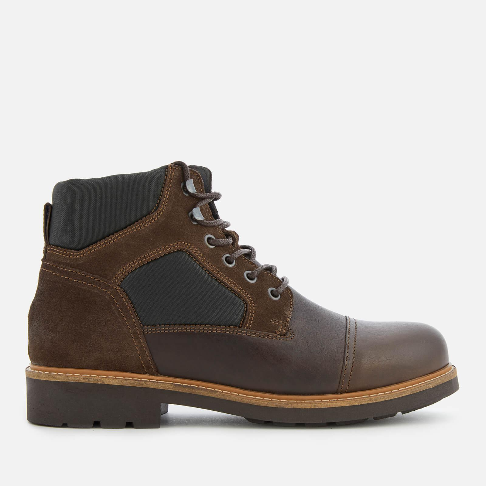 5b0ffc50f Tommy Hilfiger Active Leather Lace-up Boots in Brown for Men - Lyst