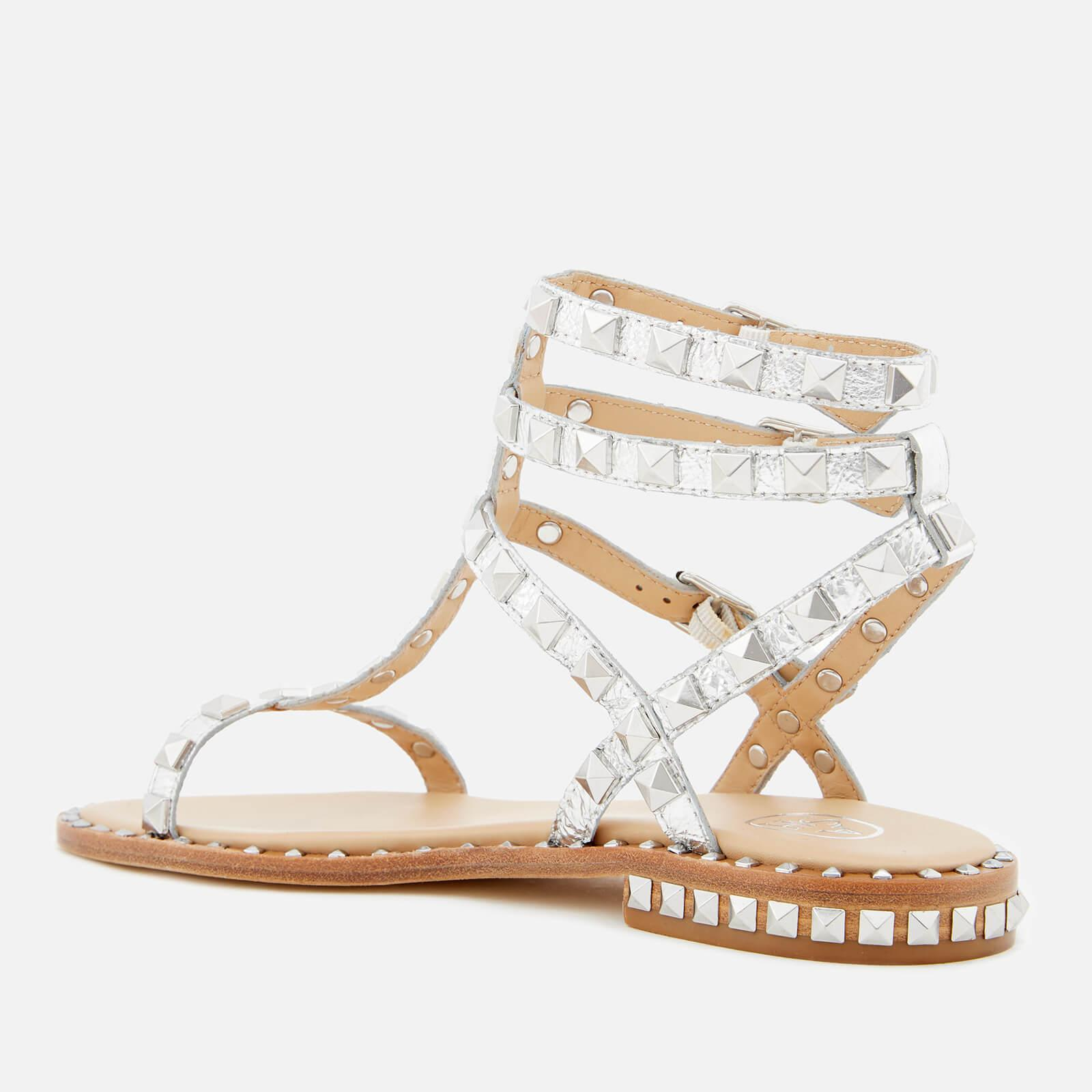 2dc59ef9c901 Ash Poison Studded Gladiator Sandals in Metallic - Lyst