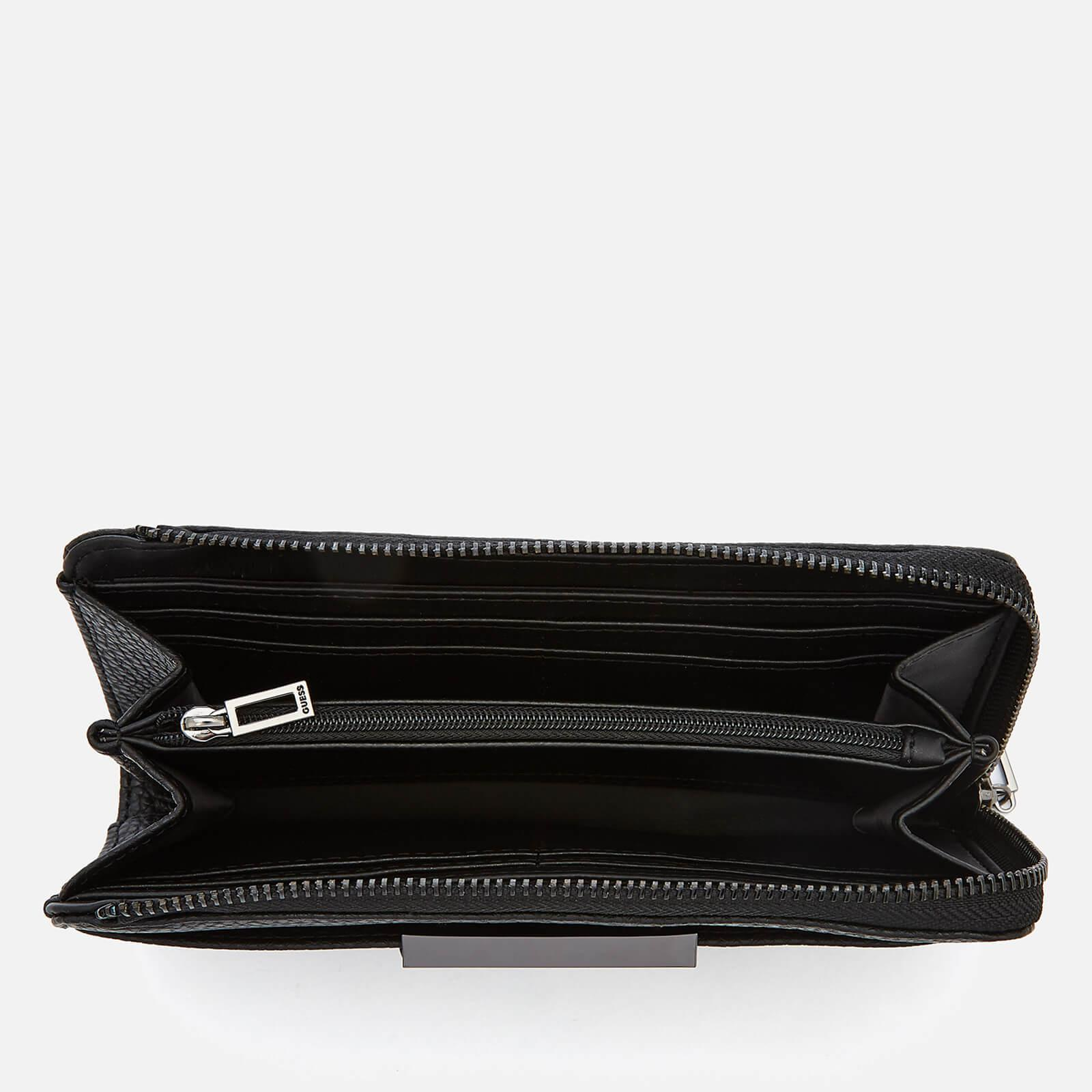 perlaceo ago reazione  Guess Synthetic Bobbi Slim Wallet in Black - Lyst