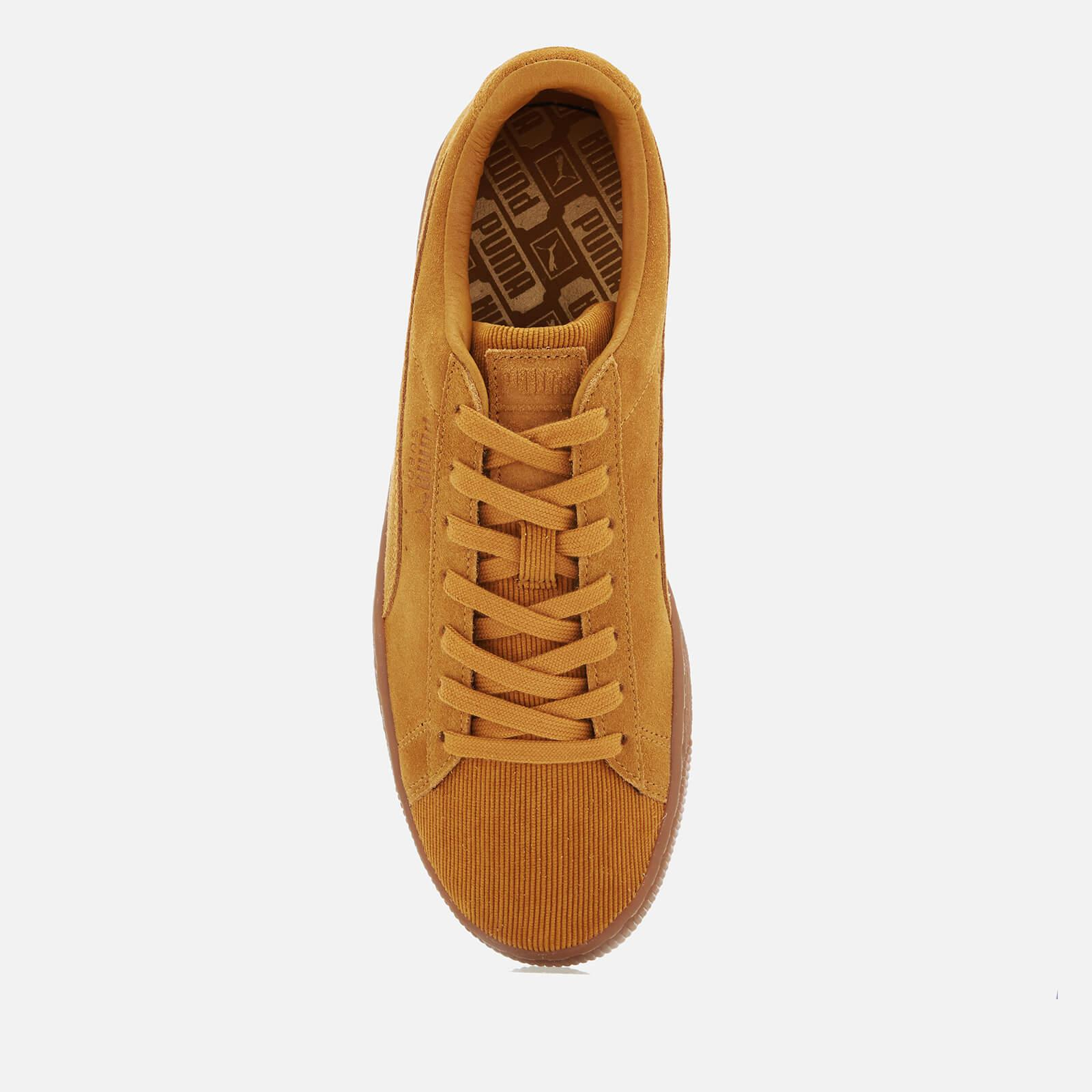 PUMA - Yellow Suede Classic Pincord Trainers for Men - Lyst. View fullscreen f723c0b25