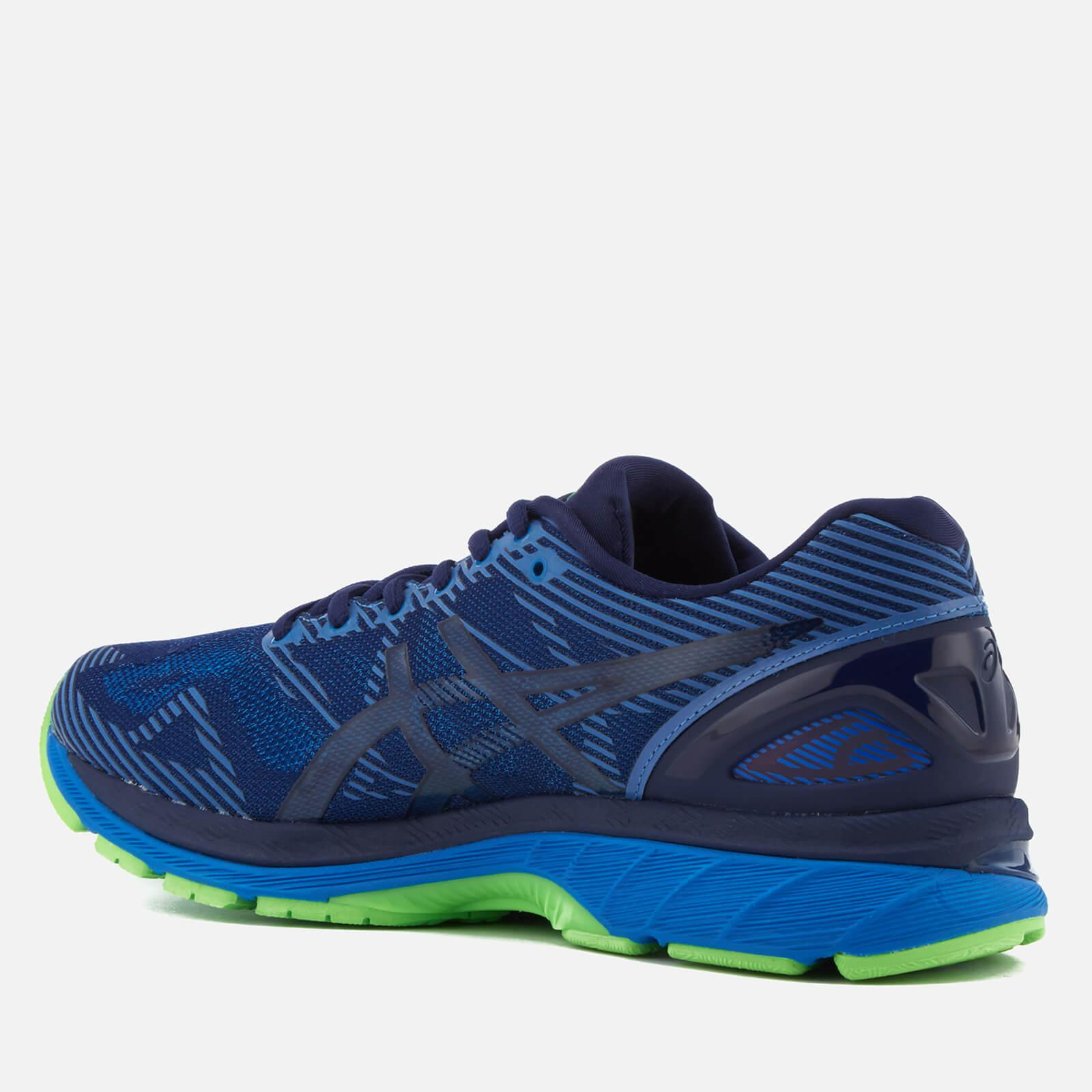 lyst asics gel nimbus 19 lite show trainers in blue for men. Black Bedroom Furniture Sets. Home Design Ideas