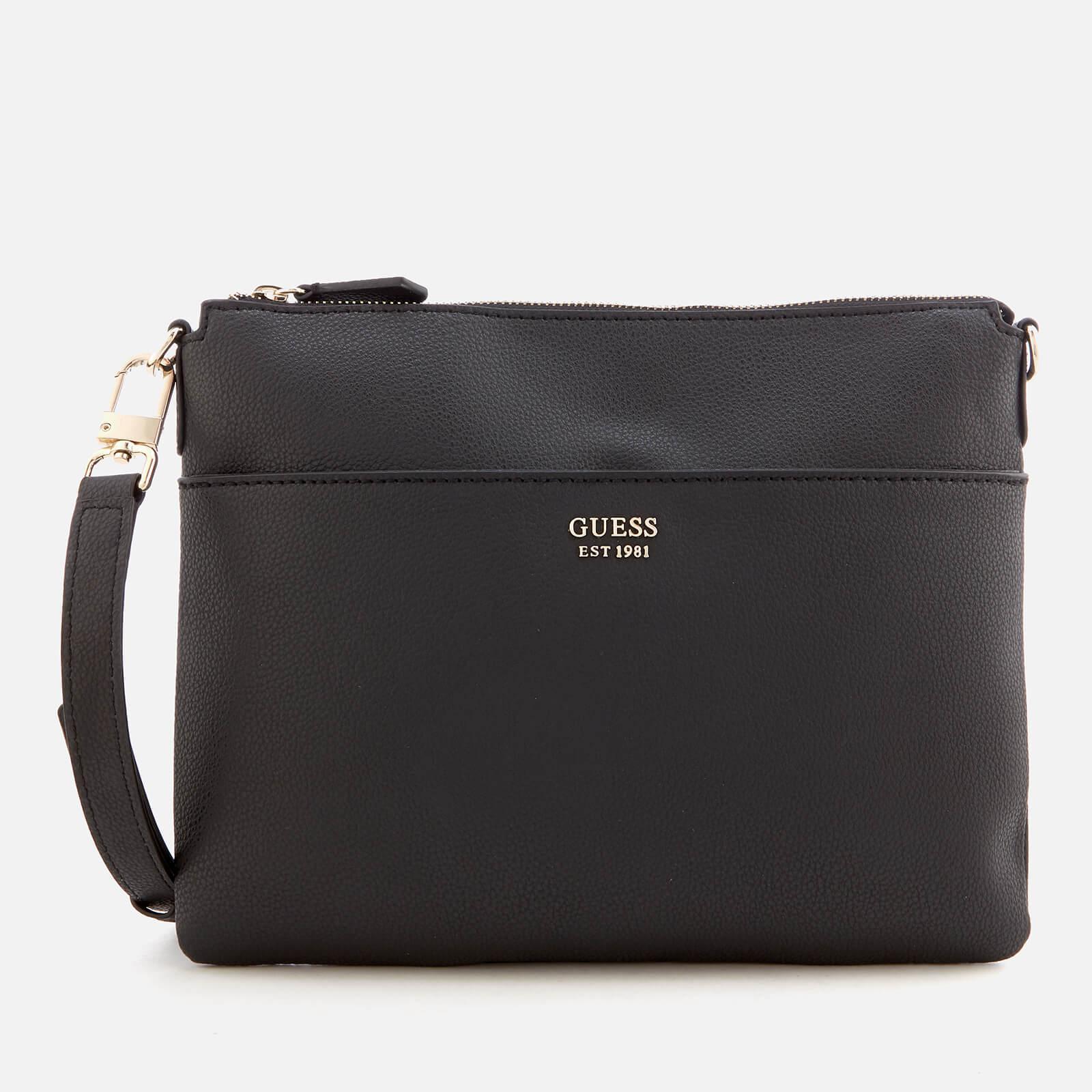 2756bfebb0be Lyst - Guess Digital Cross Body Bag in Black