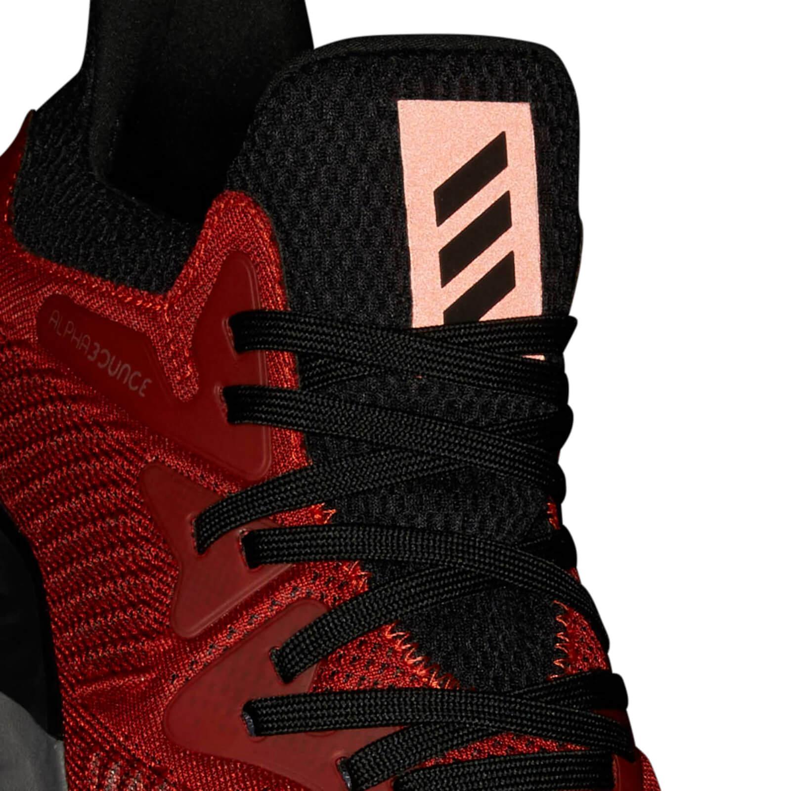 adidas Men's Alphabounce 2 Training Shoes RedBlack