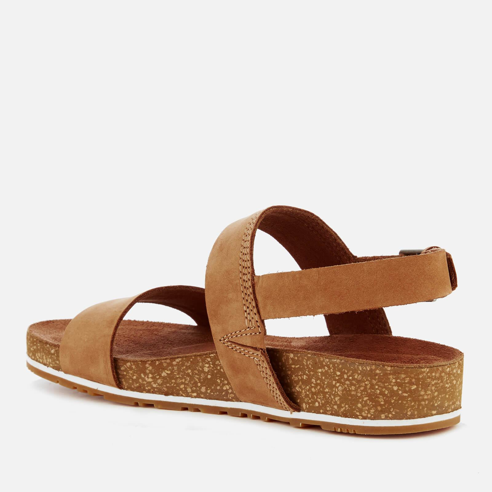 Malibu Waves 2 Bands Leather Sandals