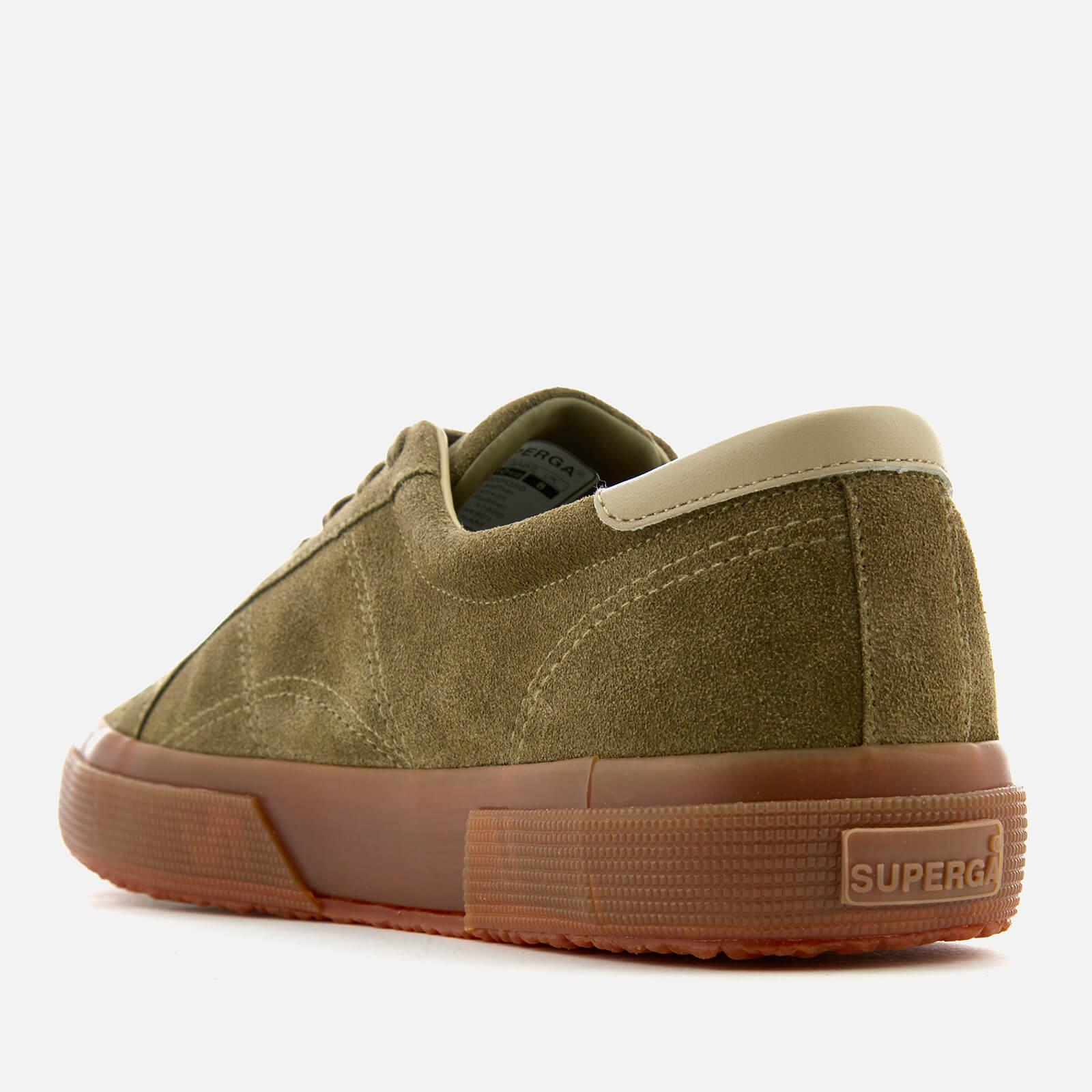 Superga 2386 Suede Fgl Trainers in Green for Men