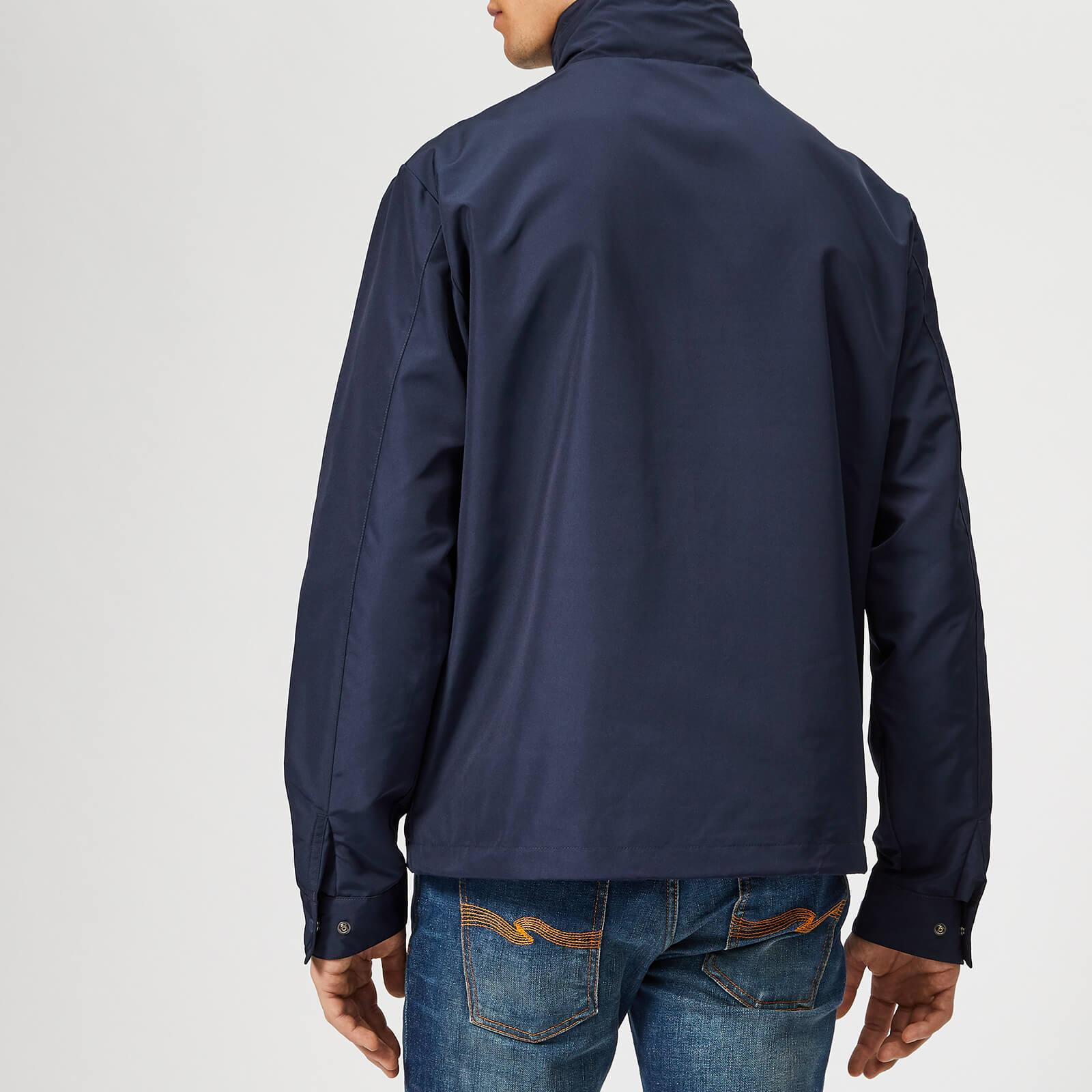 f09e392d0c0cd Lyst - Lacoste Classic Blouson Jacket in Blue for Men