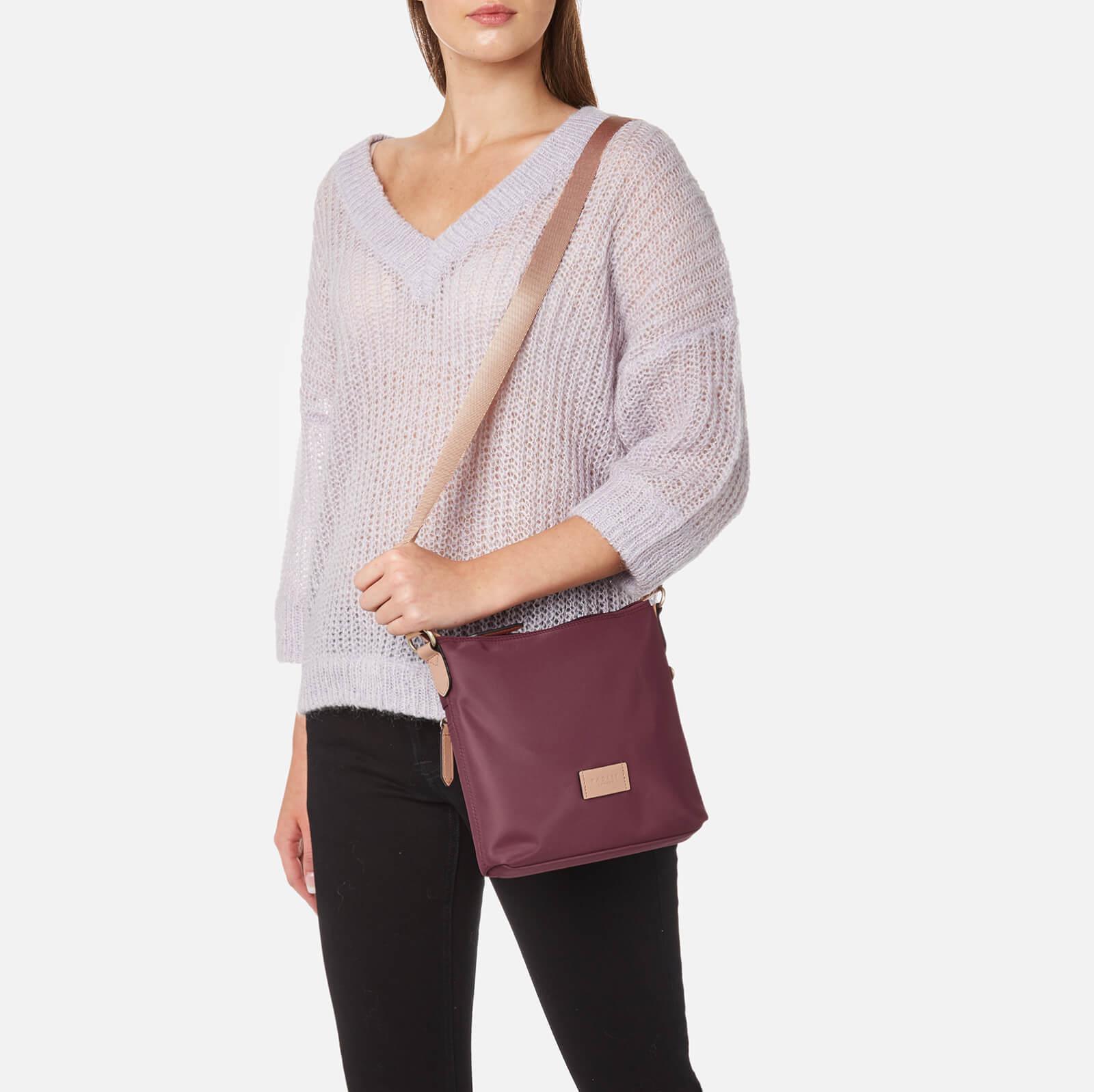 e45f0ca2cb Lyst - Radley Pocket Essentials Small Ziptop Cross Body Bag in Purple