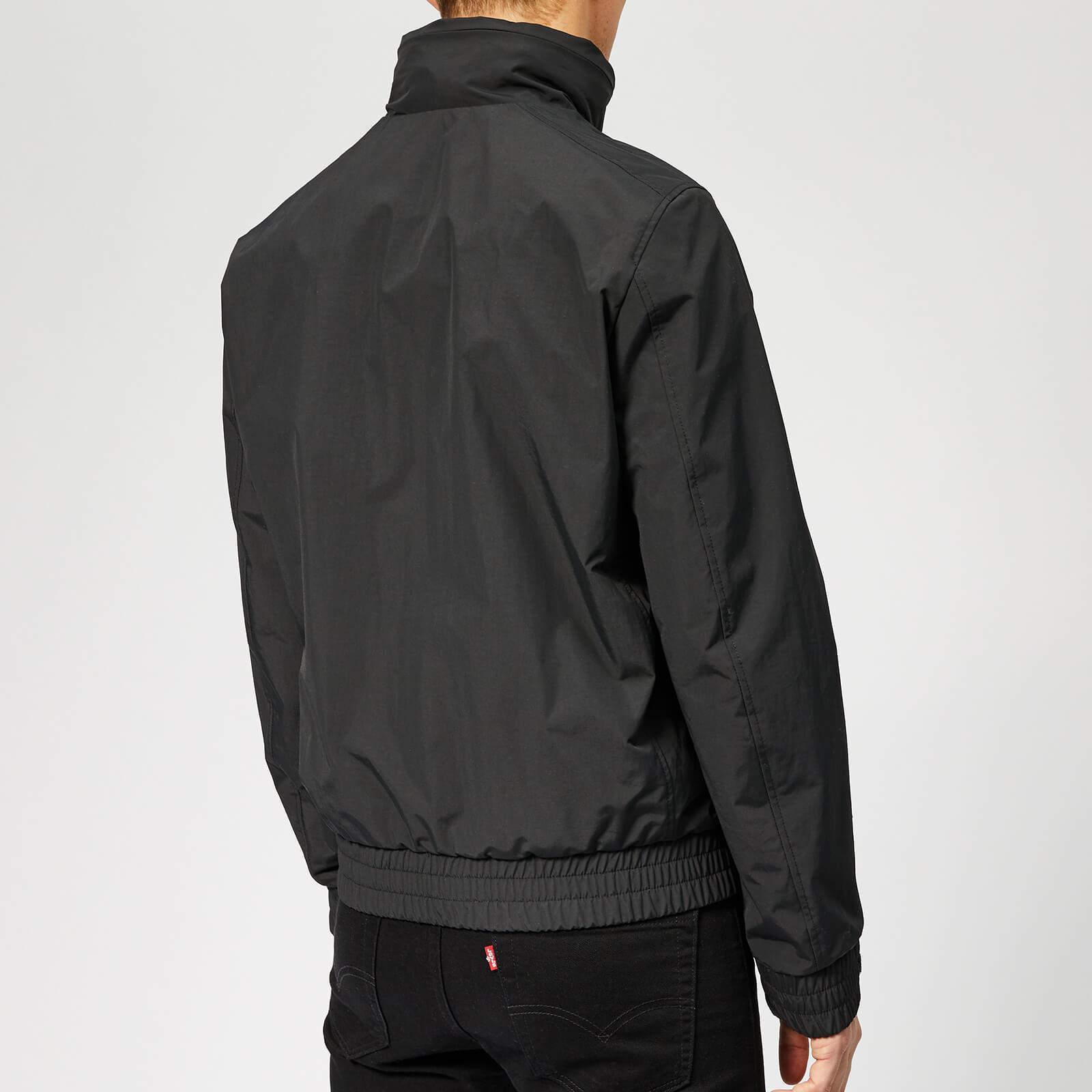 e248f2522 Woolrich Mallard Bomber Jacket in Black for Men - Lyst