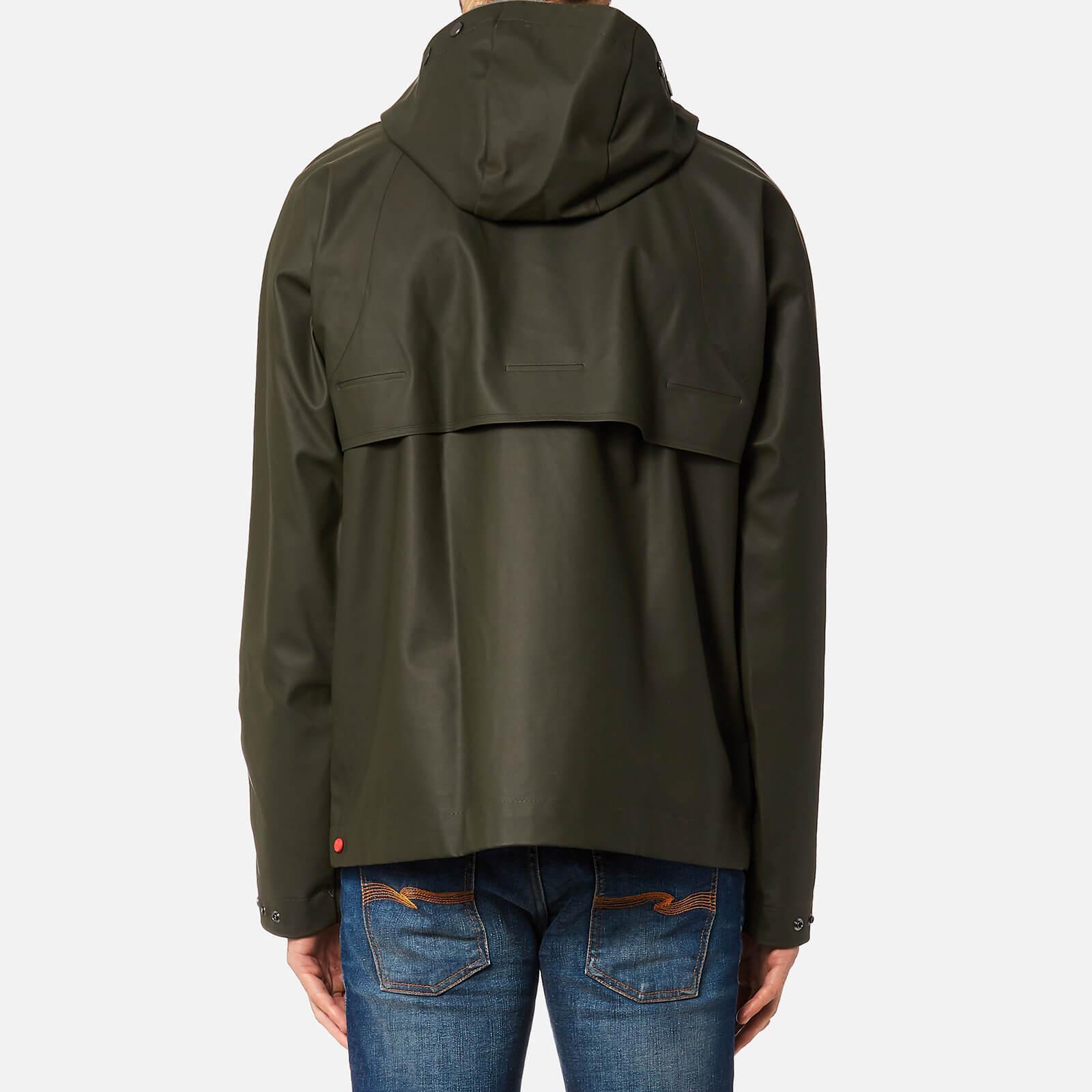 HUNTER Original Rubber Jacket in Green for Men