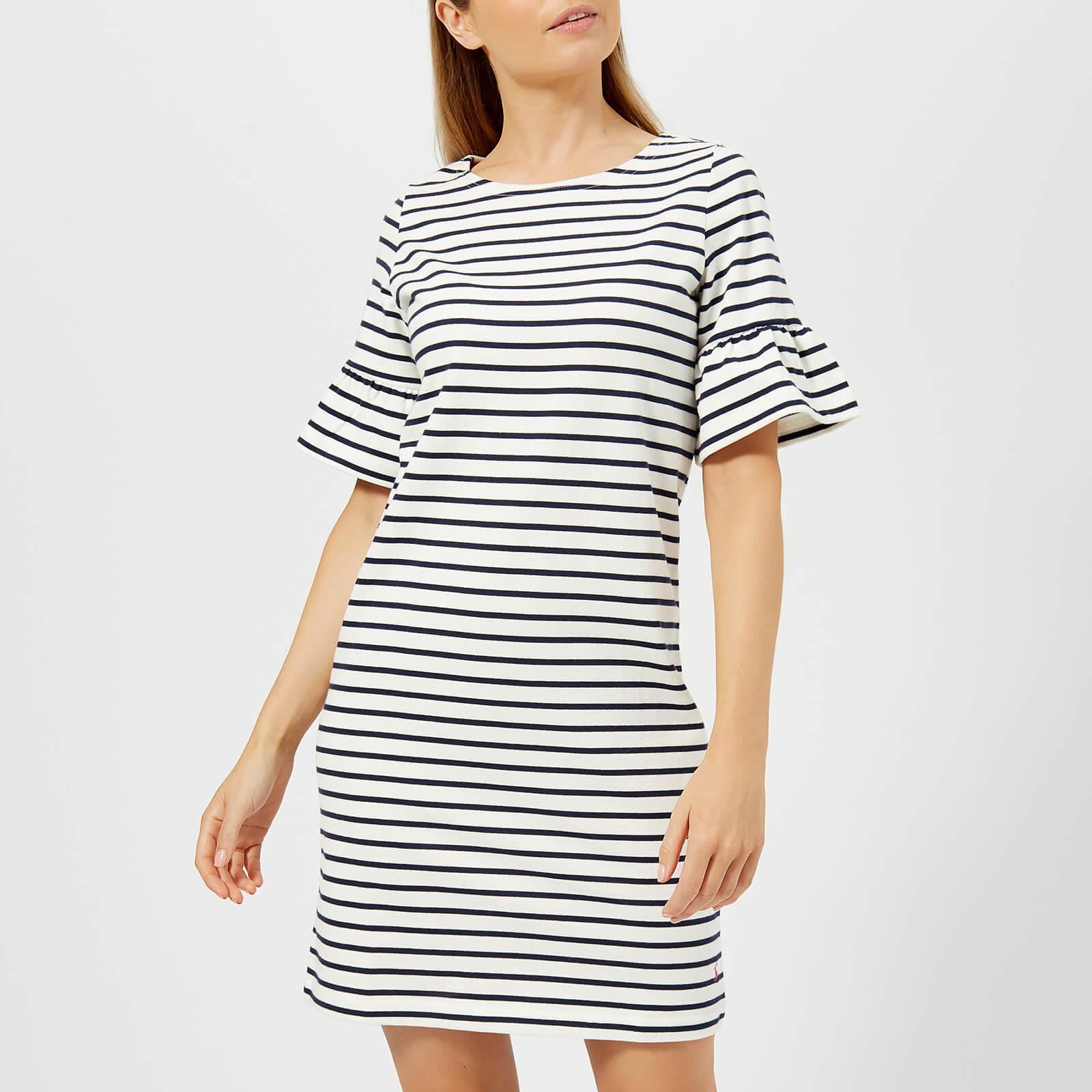 ba3d6db50a1 Joules Sienna Fluted Sleeve Jersey Dress in Blue - Lyst