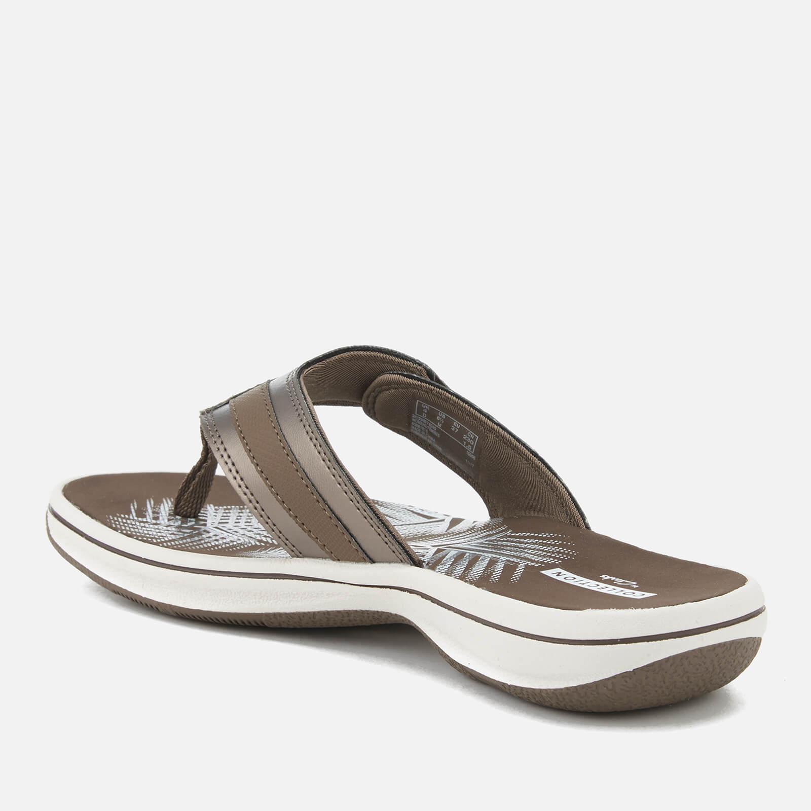 c7d0610179c2 Lyst - Clarks Brinkley Sea Toe Post Sandals in Gray