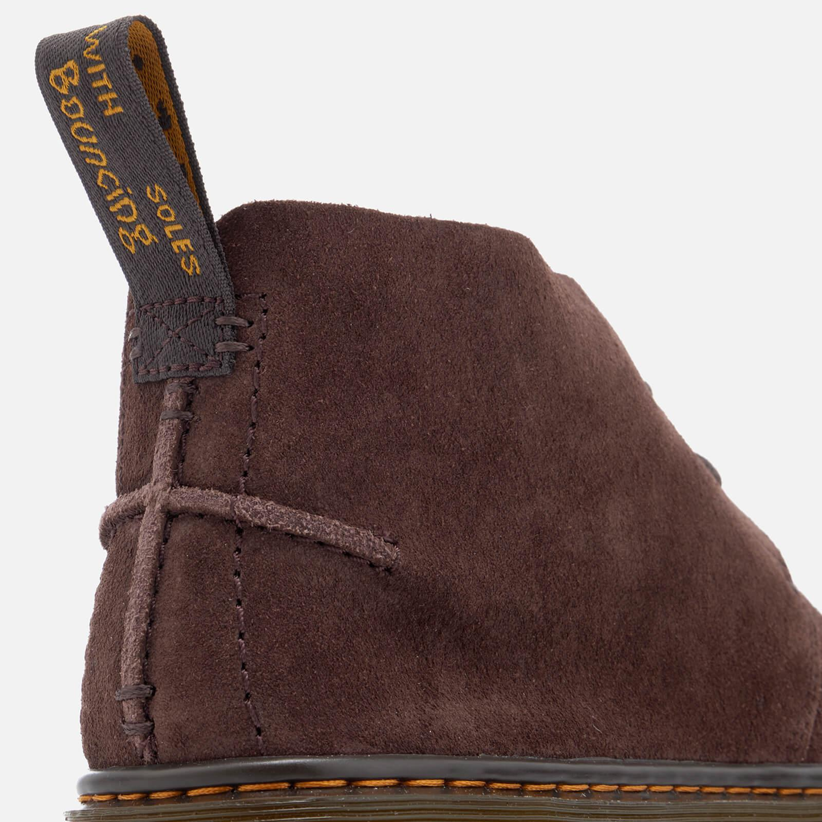 0bf992d2e0f Dr. Martens Brown Ember Bronx Suede Lace Low Boots for men