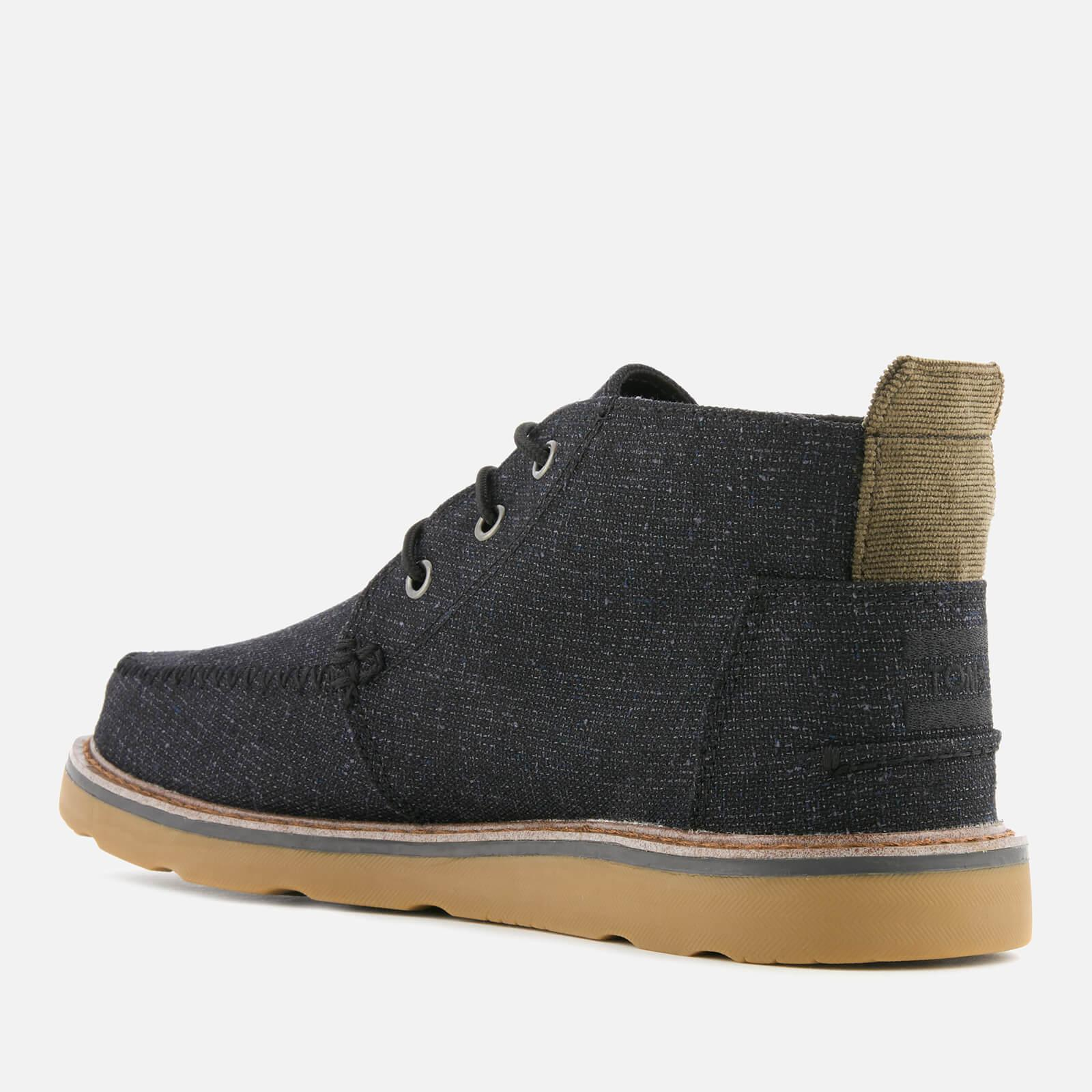 0e870b74af725 TOMS - Black Woven Chukka Boots for Men - Lyst. View fullscreen