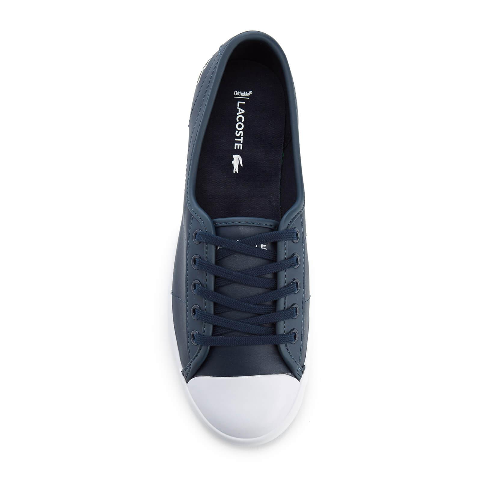 5498fe902d02 Lacoste - Blue Ziane Bl 1 Leather Lace Up Pumps - Lyst. View fullscreen