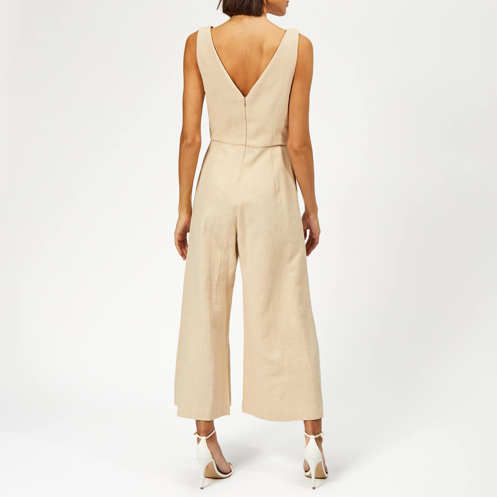 beaa2733623 Bec   Bridge Natural Woman Jumpsuit in White - Lyst