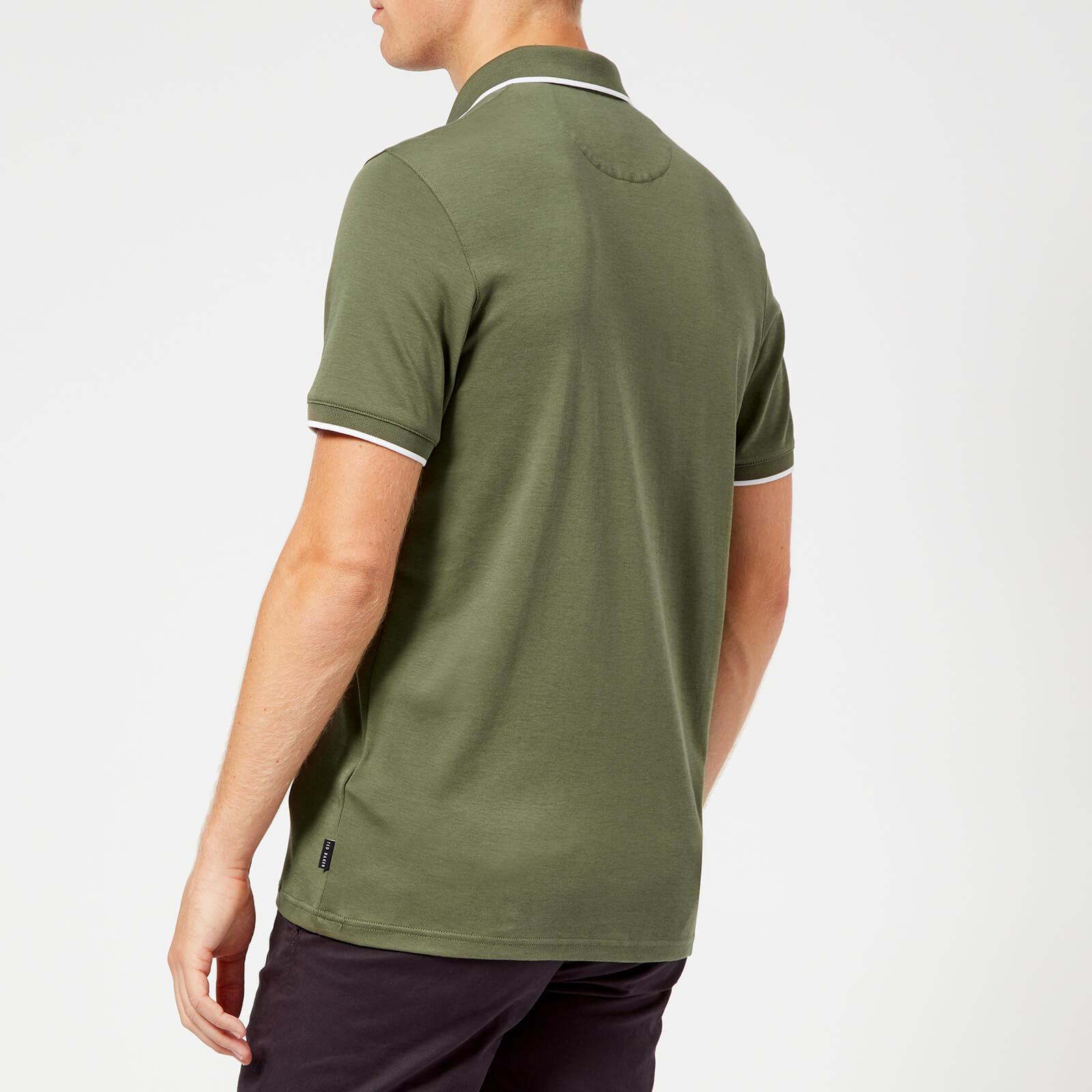 2351b5117 Ted Baker - Green Jelly Polo Shirt for Men - Lyst. View fullscreen
