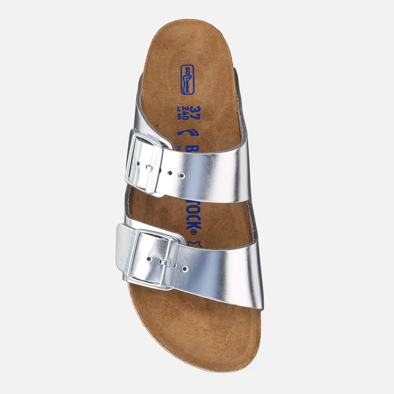 5c6eb032d2b Lyst - Birkenstock Arizona Slim Fit Leather Double Strap Sandals in ...
