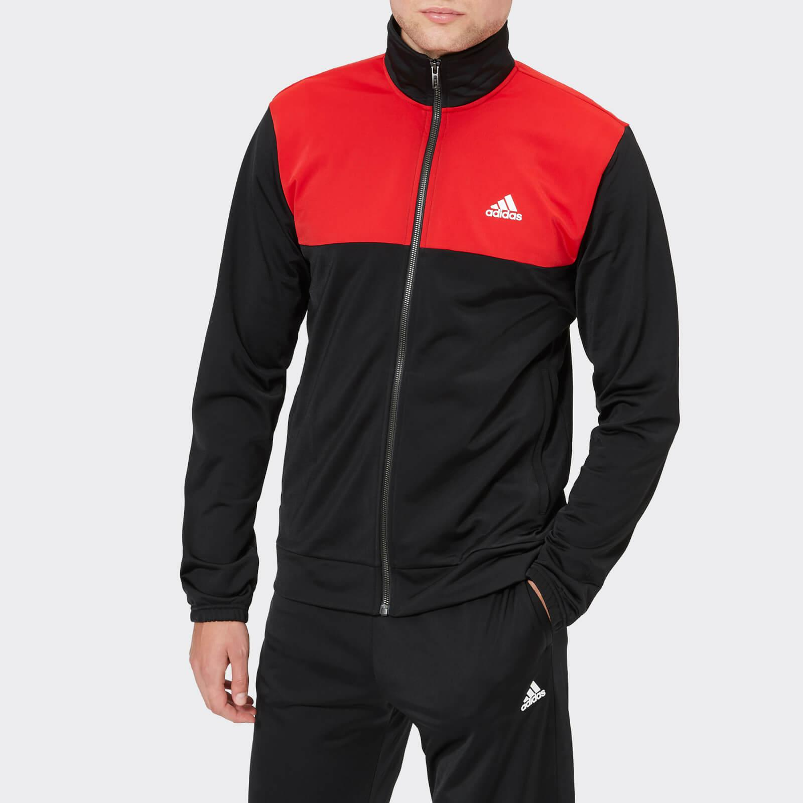 cde8b45289bd adidas Back 2 Basics Tracksuit in Black for Men - Lyst