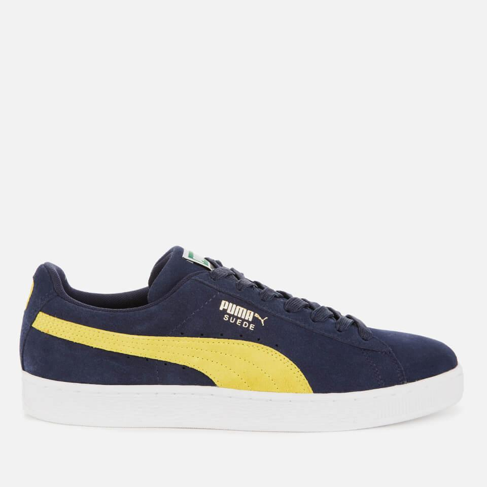 PUMA Suede Classic Trainers in Navy