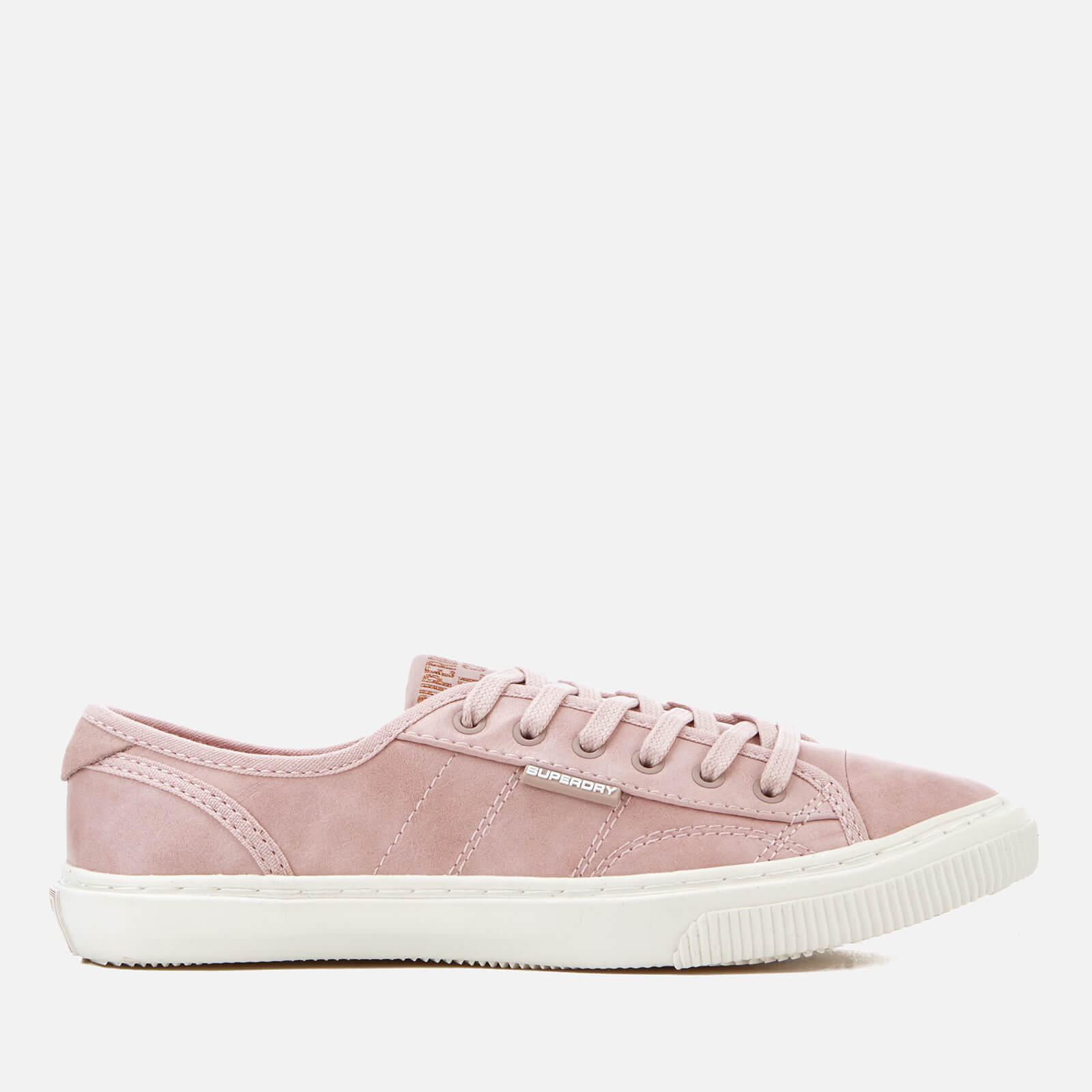 Superdry Low Pro Luxe Trainers in Pink