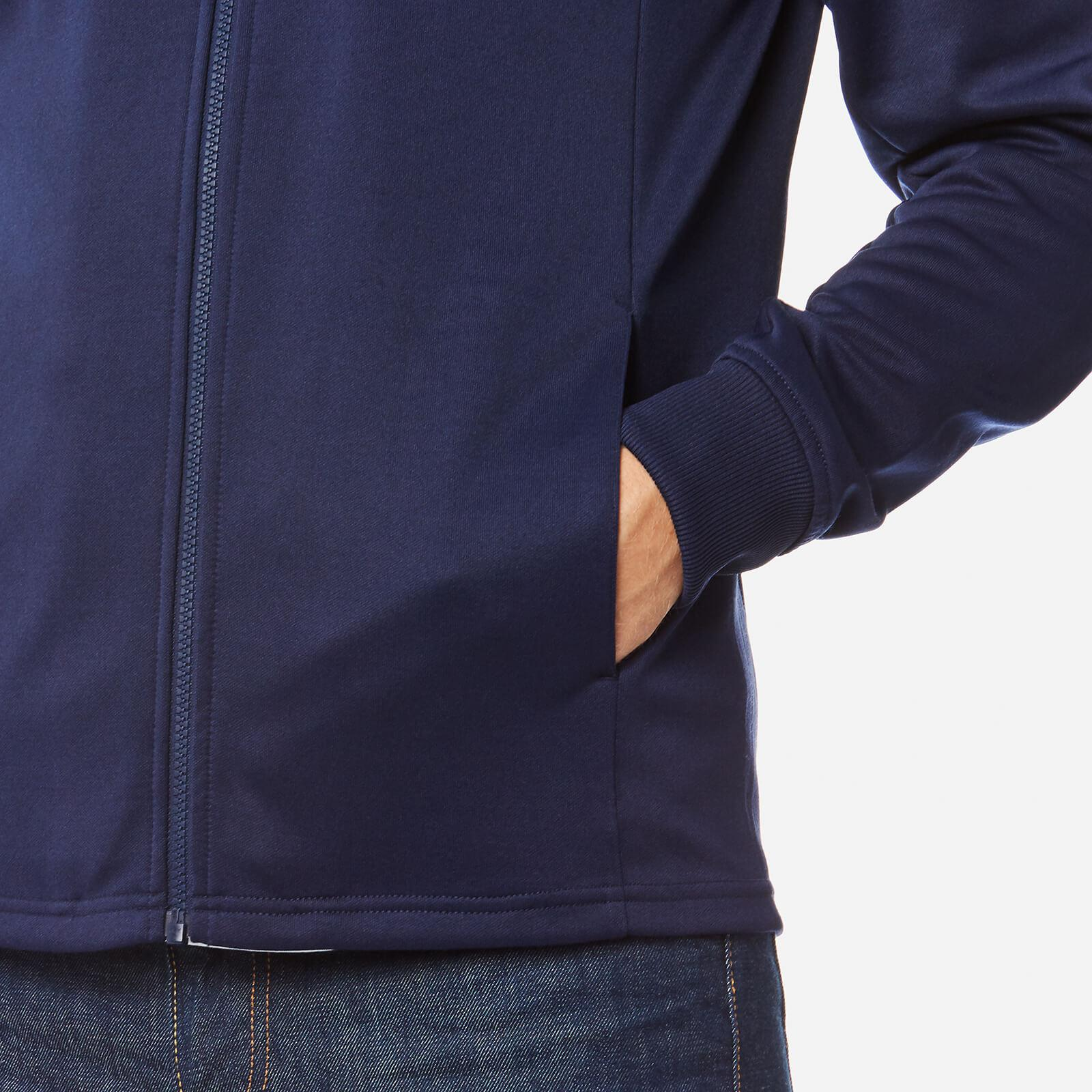 Lyle & Scott Cotton Tricot Hooded Jacket in Navy (Blue) for Men