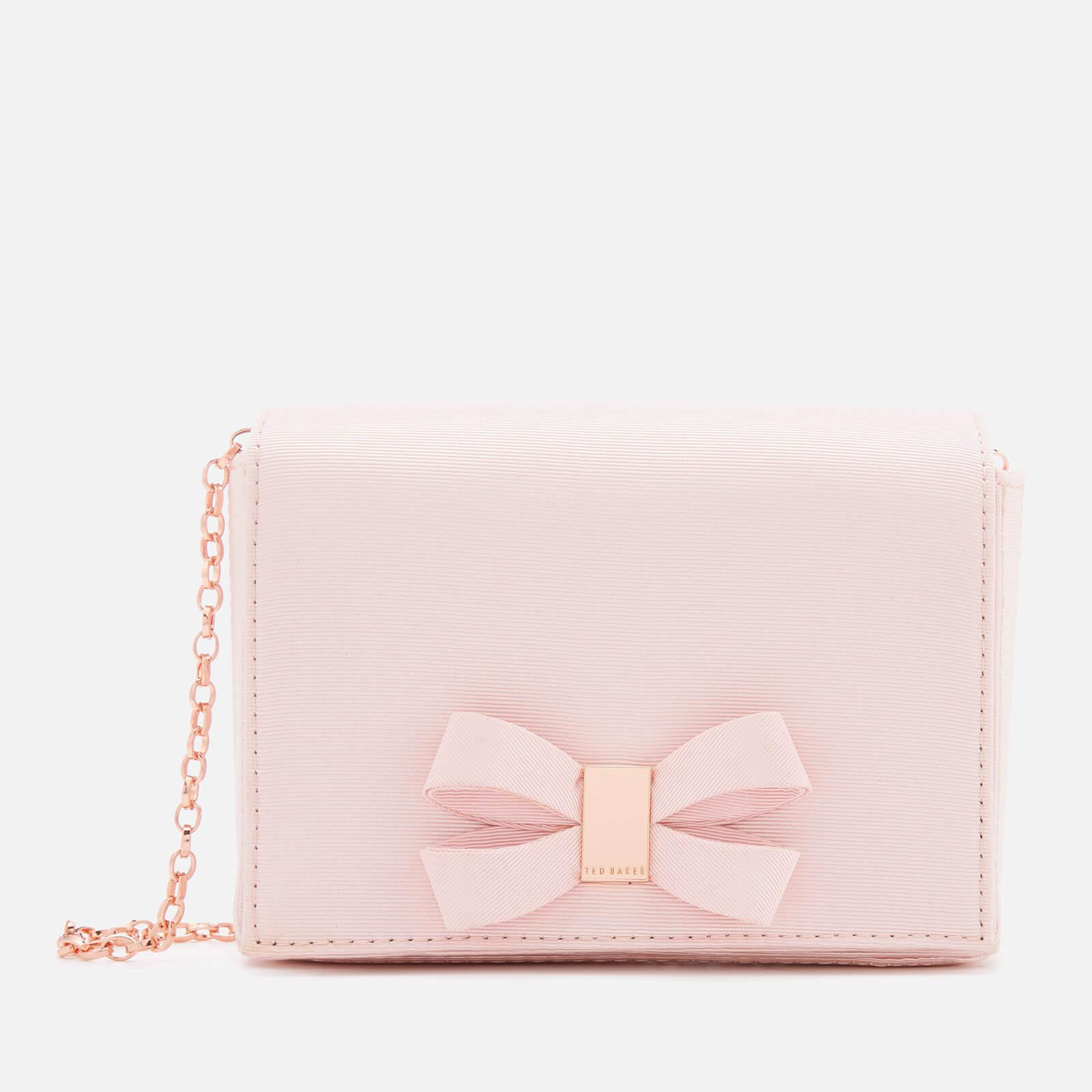 51d022eda47d Lyst - Ted Baker Stacyy Looped Bow Evening Bag in Pink