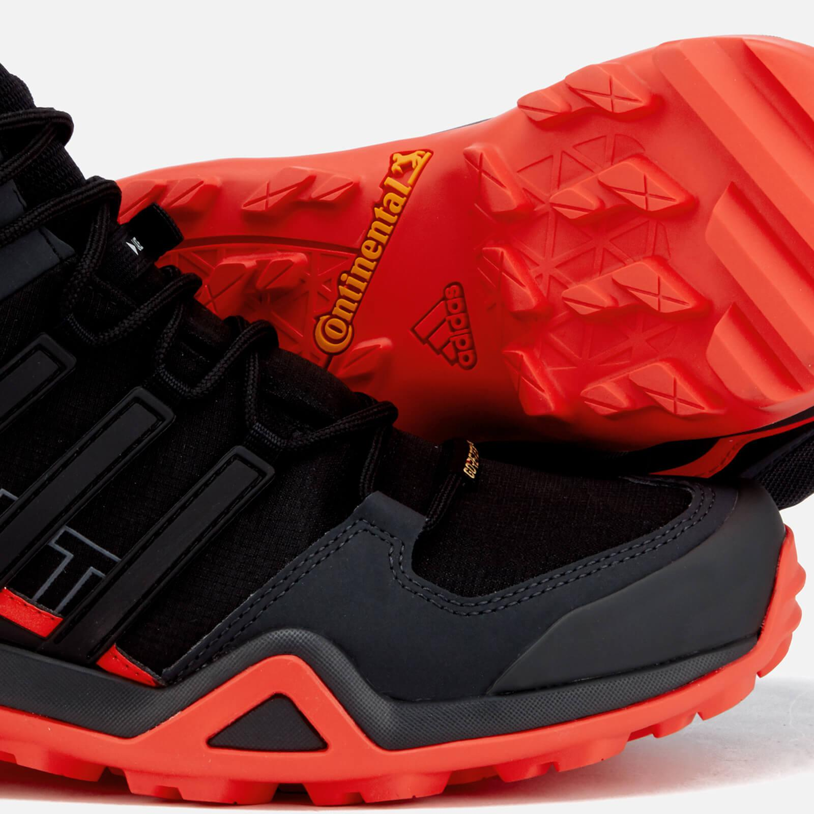 adidas Rubber Swift R2 Mid Goretex Hiking Boots in Black for Men